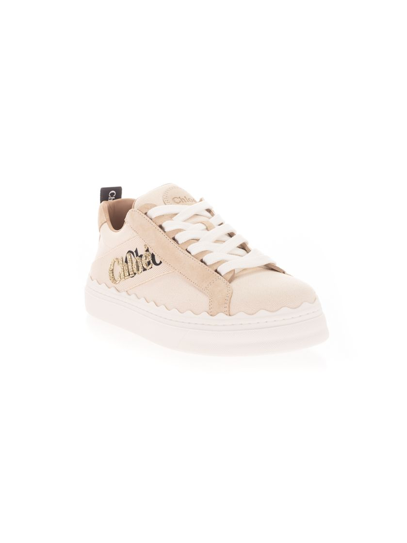 CHLOÉ Sneakers CHLOÉ WOMEN'S WHITE OTHER MATERIALS SNEAKERS