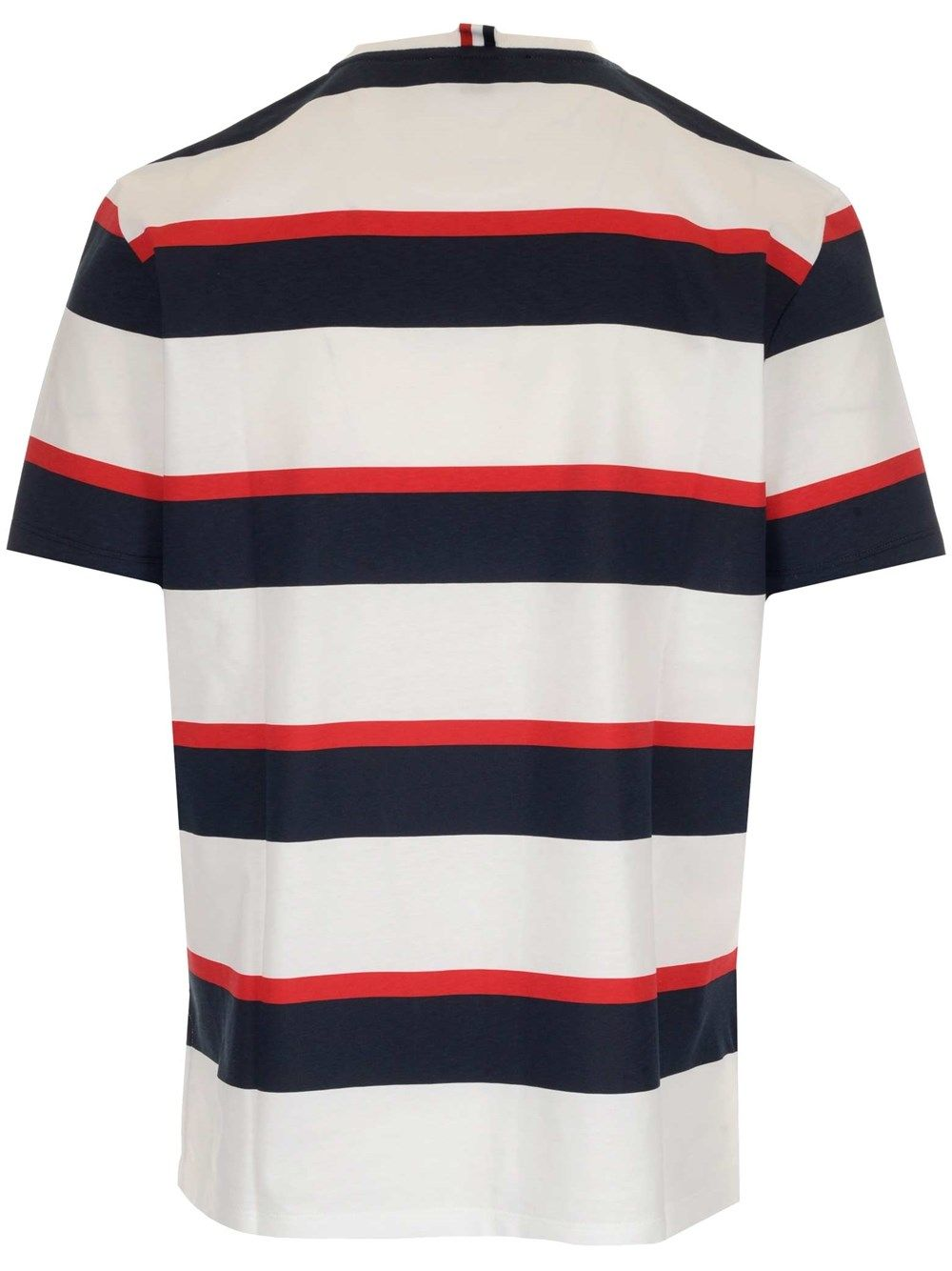 THOM BROWNE Cottons THOM BROWNE MEN'S WHITE OTHER MATERIALS T-SHIRT