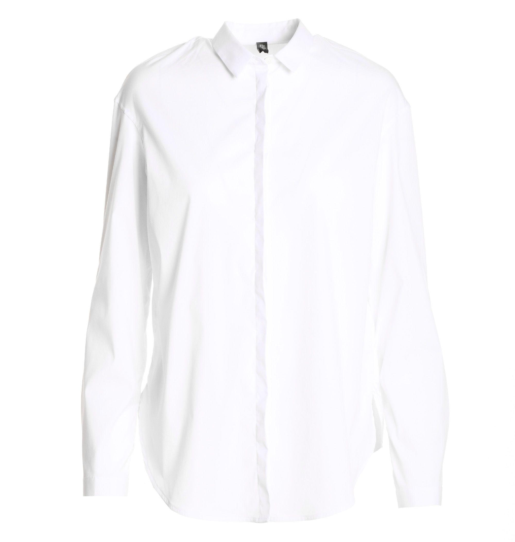 Eleventy Cottons WOMEN'S 980CA0057CAM2308301 WHITE COTTON SHIRT