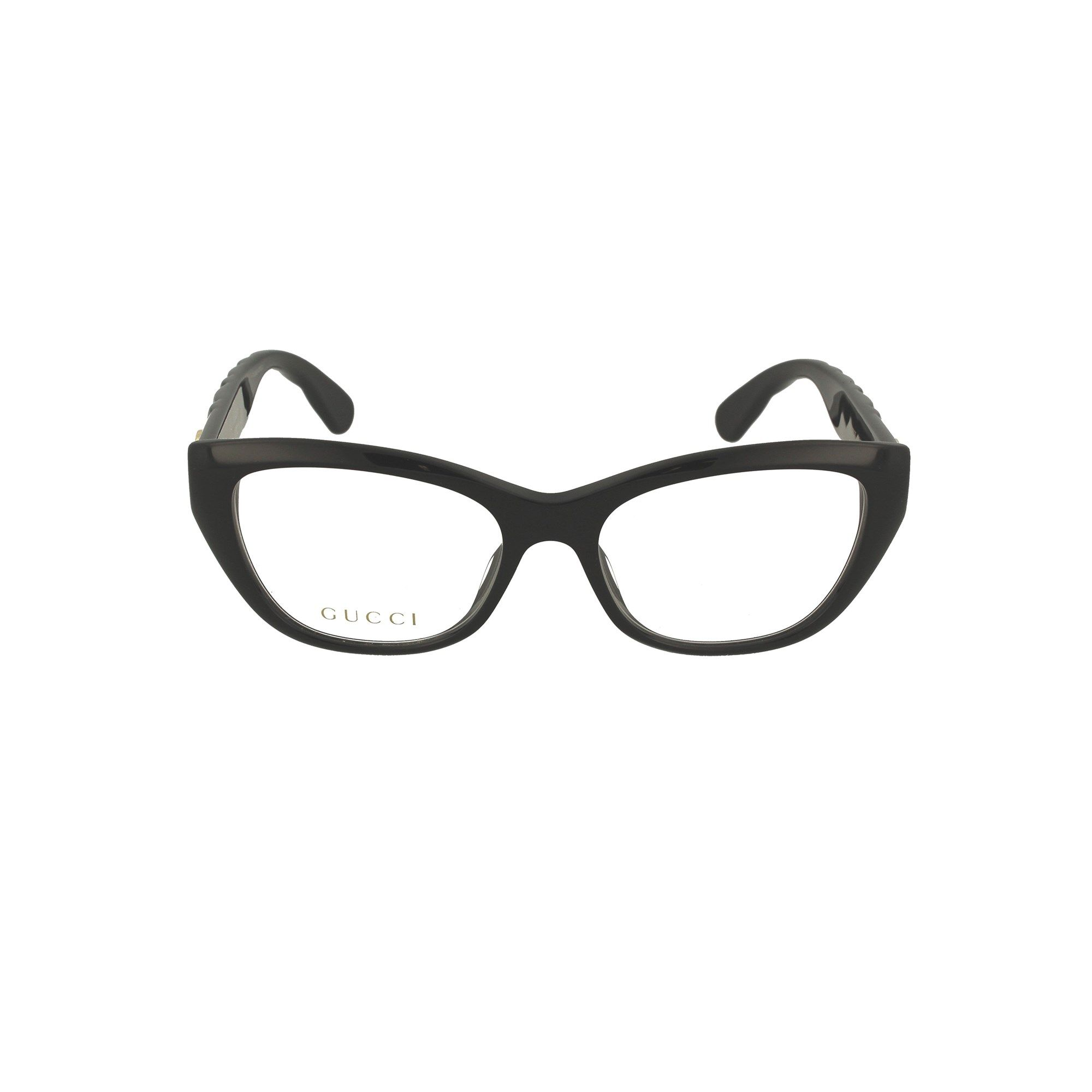 Gucci GUCCI WOMEN'S BLACK METAL GLASSES