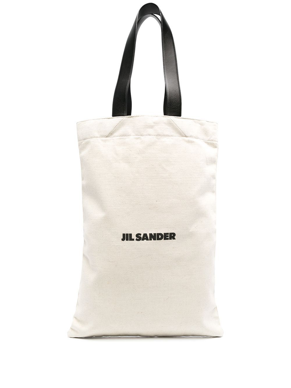 Jil Sander JIL SANDER MEN'S BEIGE FABRIC TRAVEL BAG