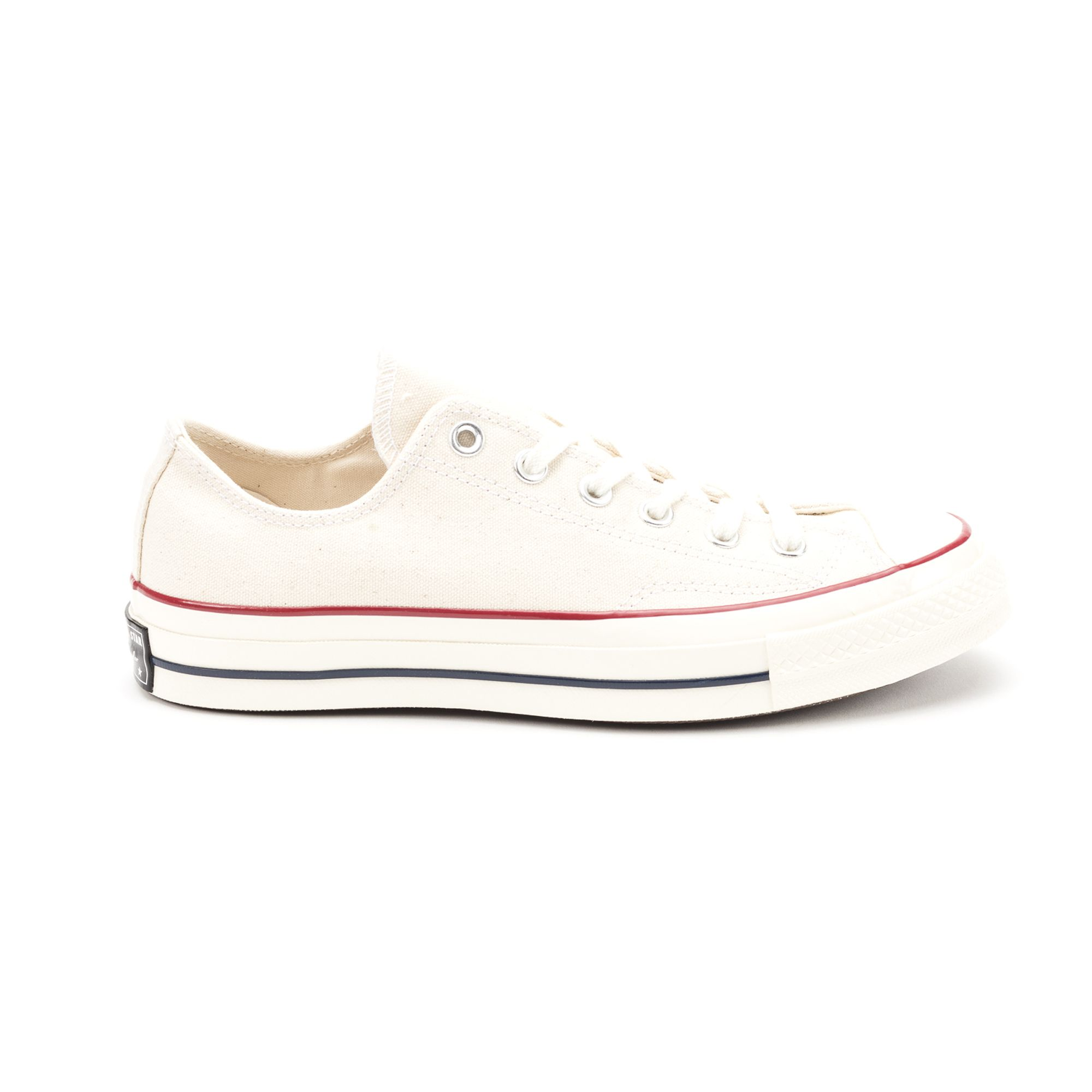Converse Chuck Taylor All Star Low Top Sneaker In White/Red/Blue