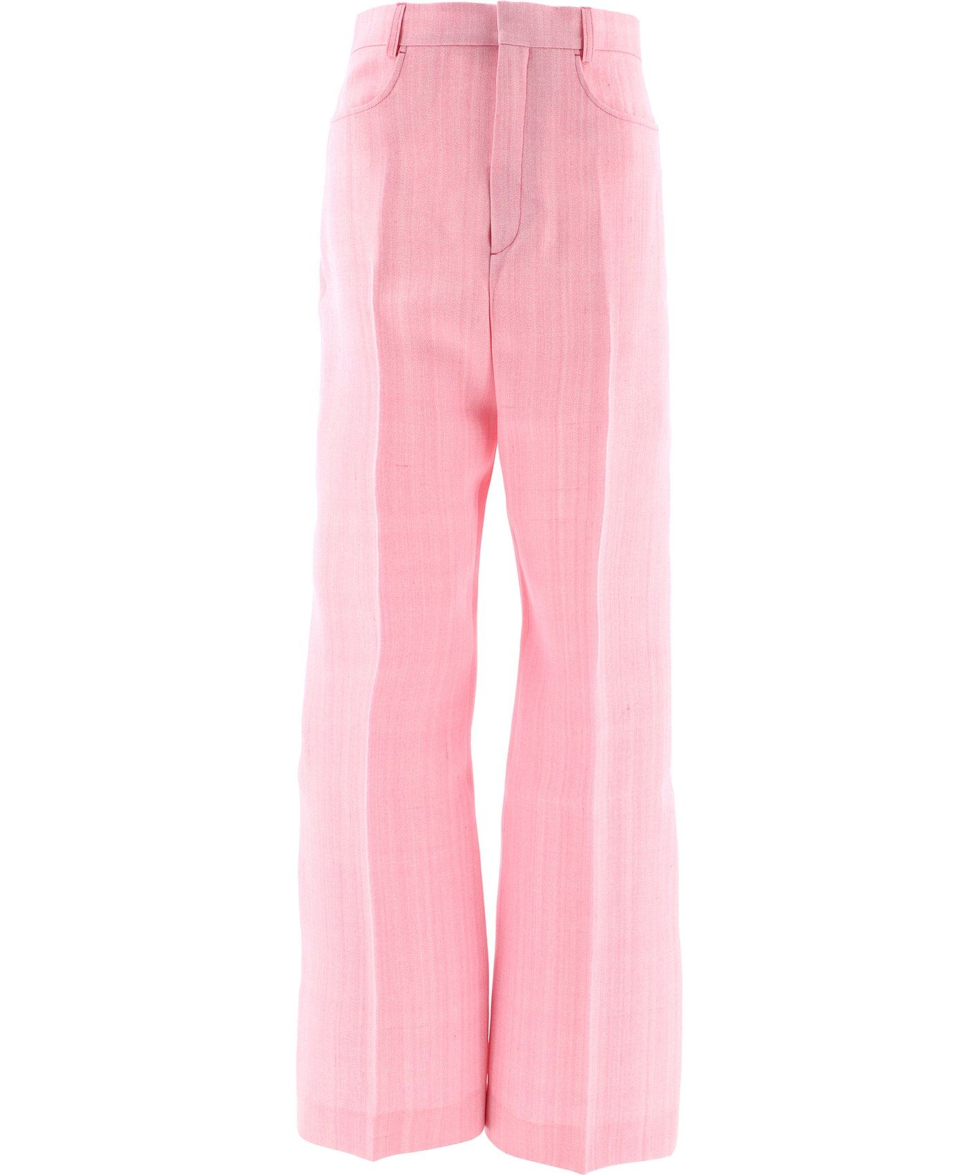 Jacquemus JACQUEMUS WOMEN'S PINK OTHER MATERIALS PANTS