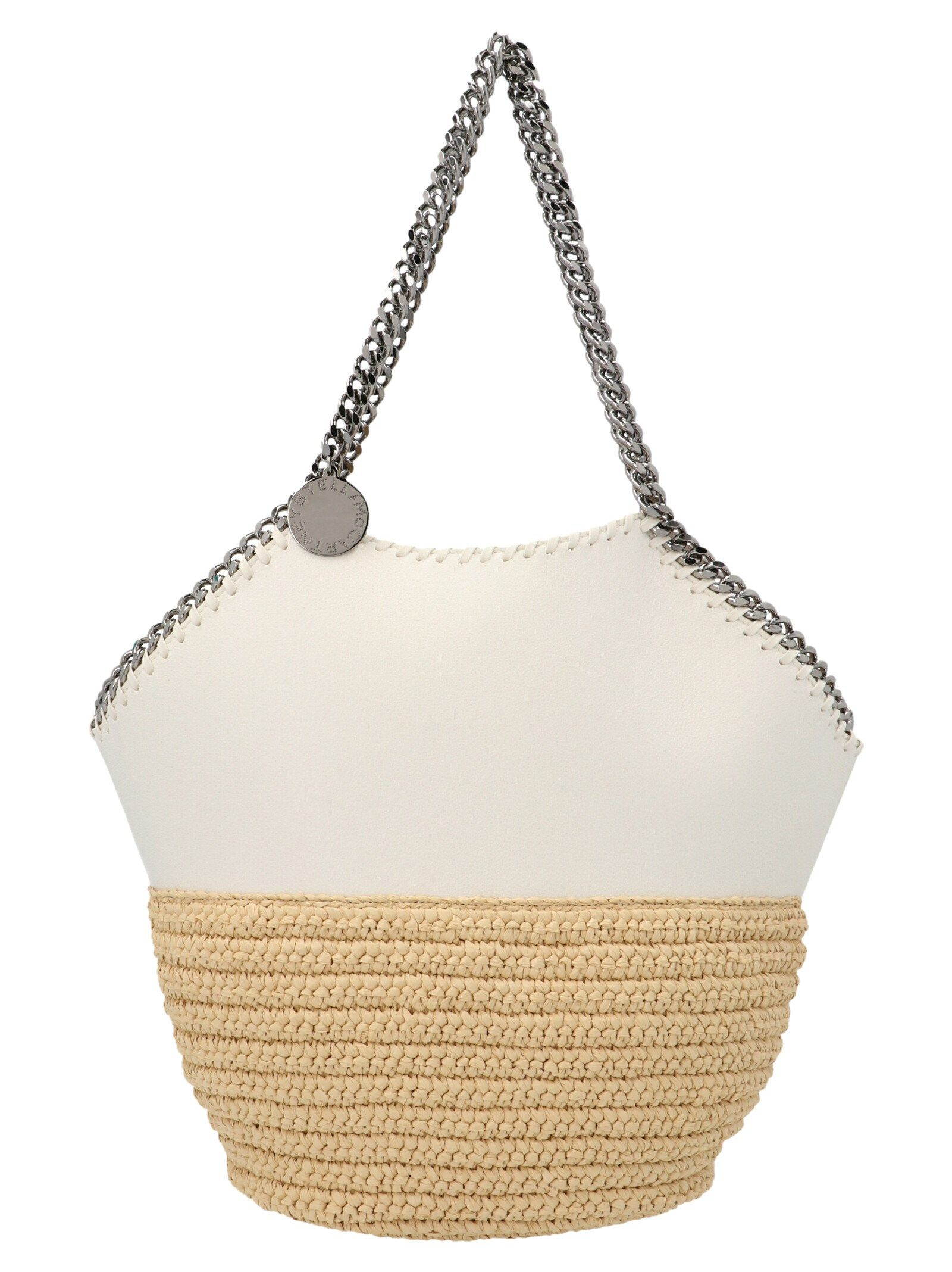 Stella Mccartney Totes STELLA MCCARTNEY WOMEN'S WHITE OTHER MATERIALS TOTE