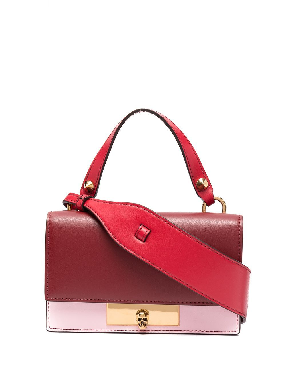 Alexander Mcqueen ALEXANDER MCQUEEN WOMEN'S RED LEATHER HANDBAG