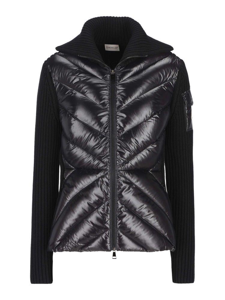 Moncler Women's Light Blue Other Materials Outerwear Jacket