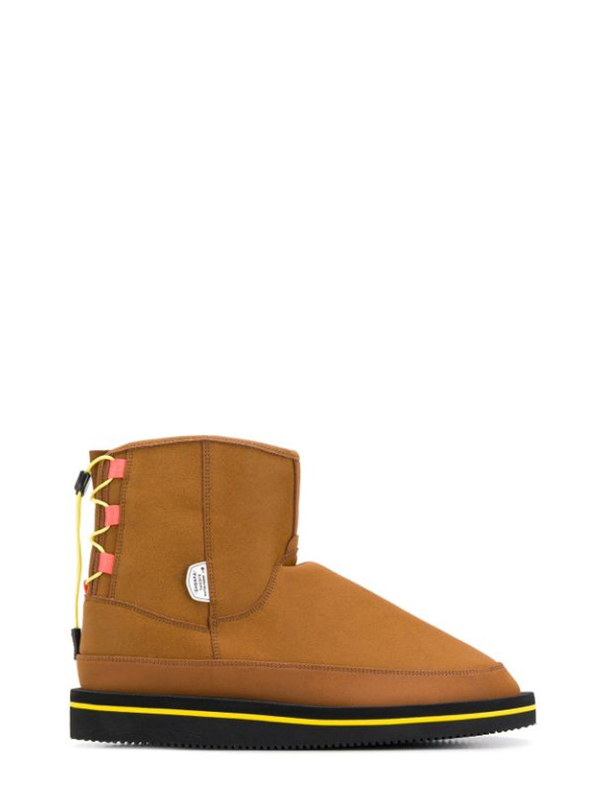 Suicoke BROWN POLYESTER ANKLE BOOTS