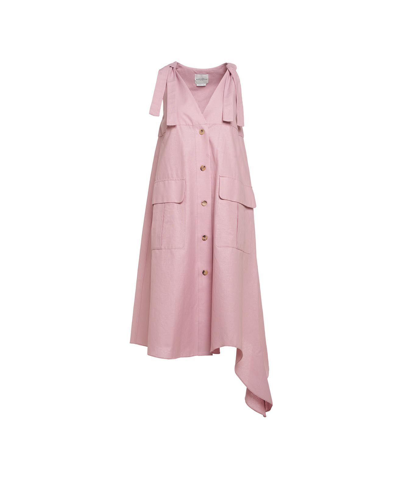 Ballantyne BALLANTYNE WOMEN'S PINK OTHER MATERIALS DRESS