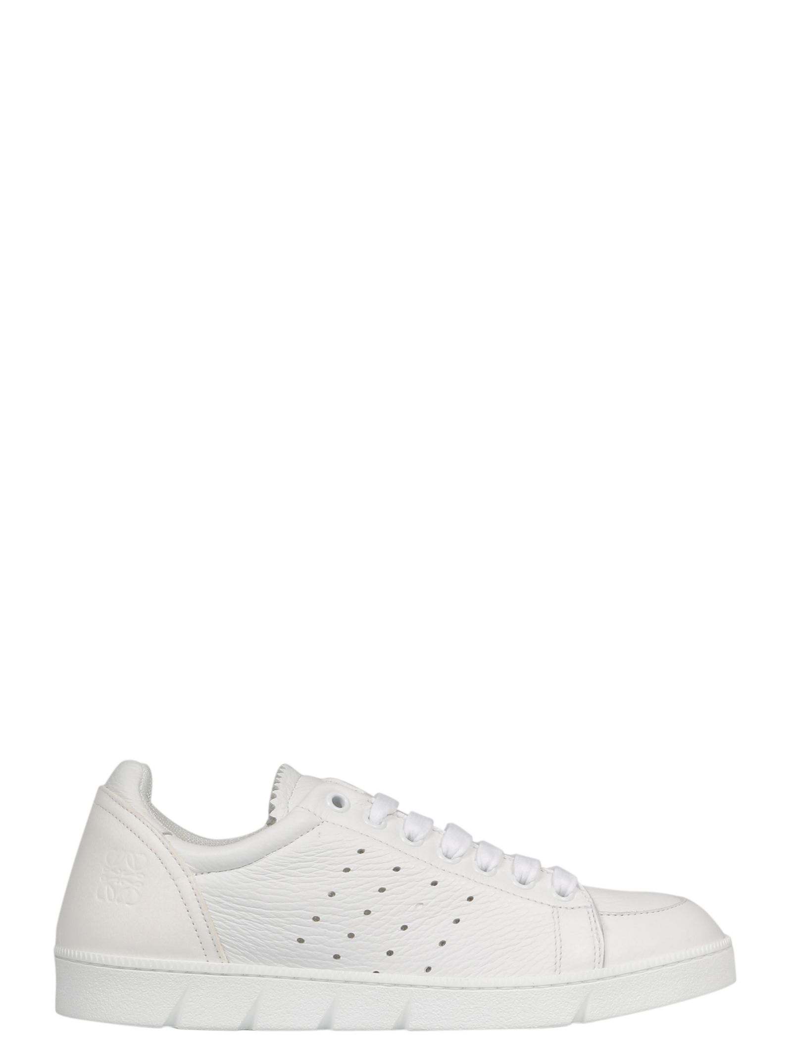 Loewe Sneakers WOMEN'S 453181122100 WHITE LEATHER SNEAKERS