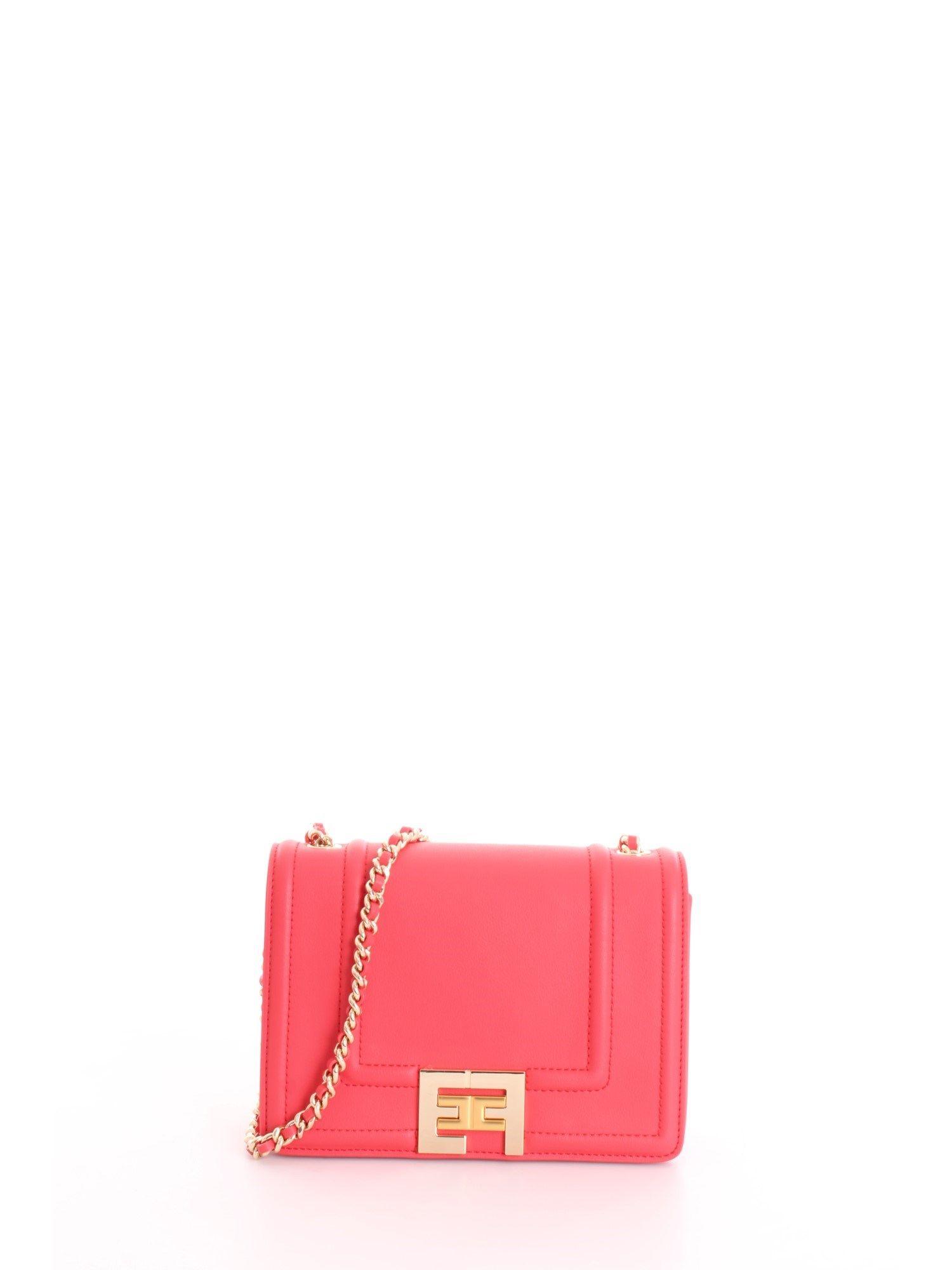 Elisabetta Franchi ELISABETTA FRANCHI WOMEN'S RED SHOULDER BAG
