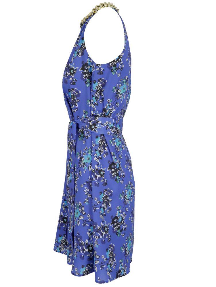 PINKO Dresses PINKO WOMEN'S BLUE POLYESTER DRESS
