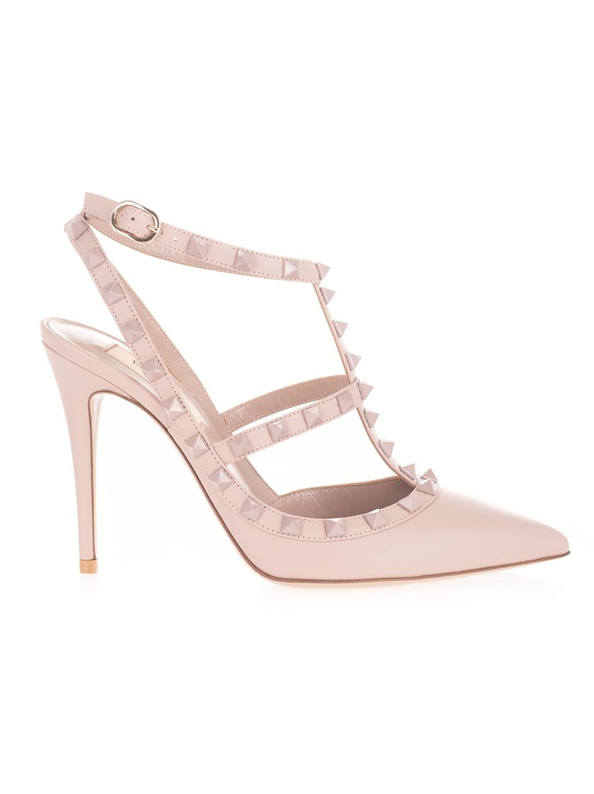 Valentino VALENTINO GARAVANI WOMEN'S PINK OTHER MATERIALS SANDALS
