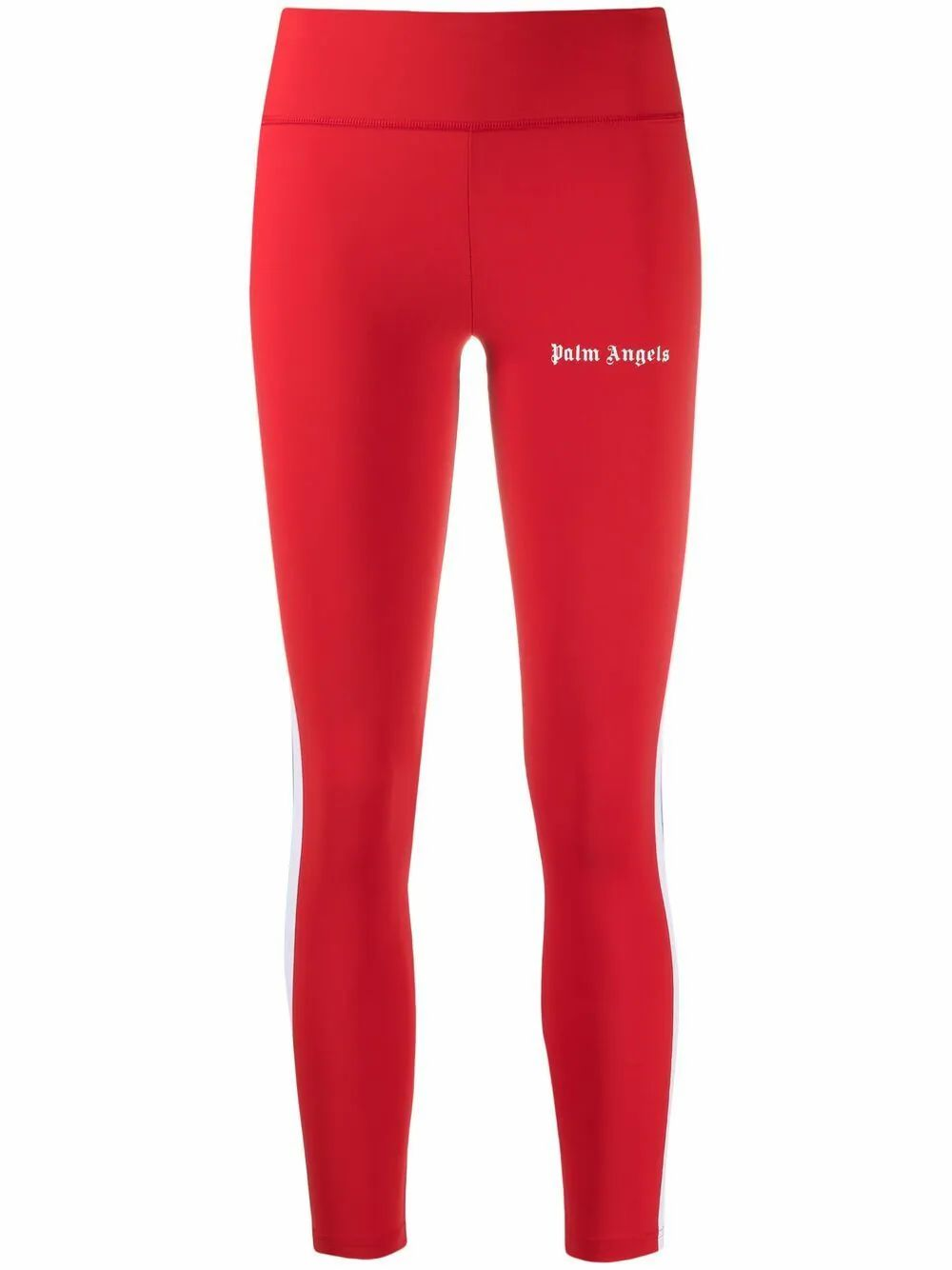 Palm Angels PALM ANGELS WOMEN'S RED POLYAMIDE LEGGINGS