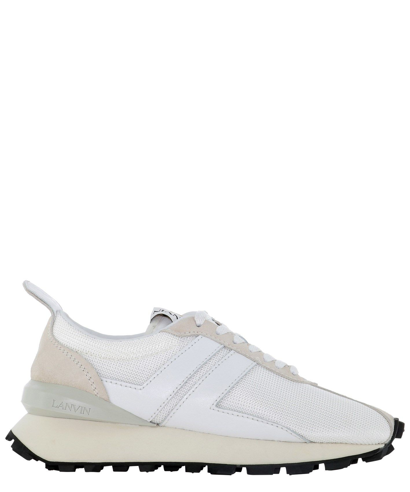 Lanvin LANVIN WOMEN'S WHITE OTHER MATERIALS SNEAKERS