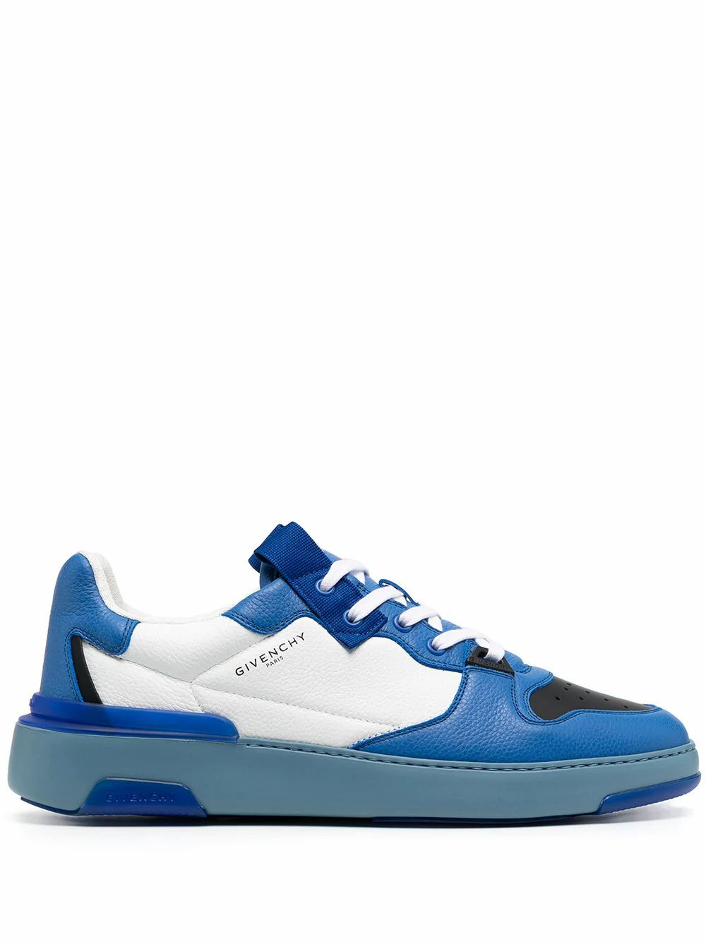 Givenchy GIVENCHY MEN'S BLUE LEATHER SNEAKERS
