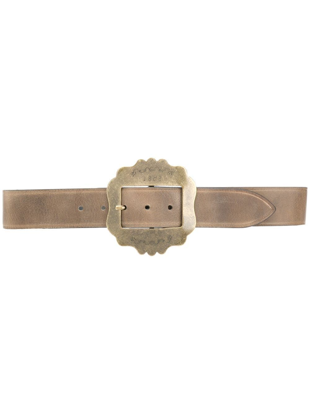 Isabel Marant ISABEL MARANT WOMEN'S BEIGE LEATHER BELT
