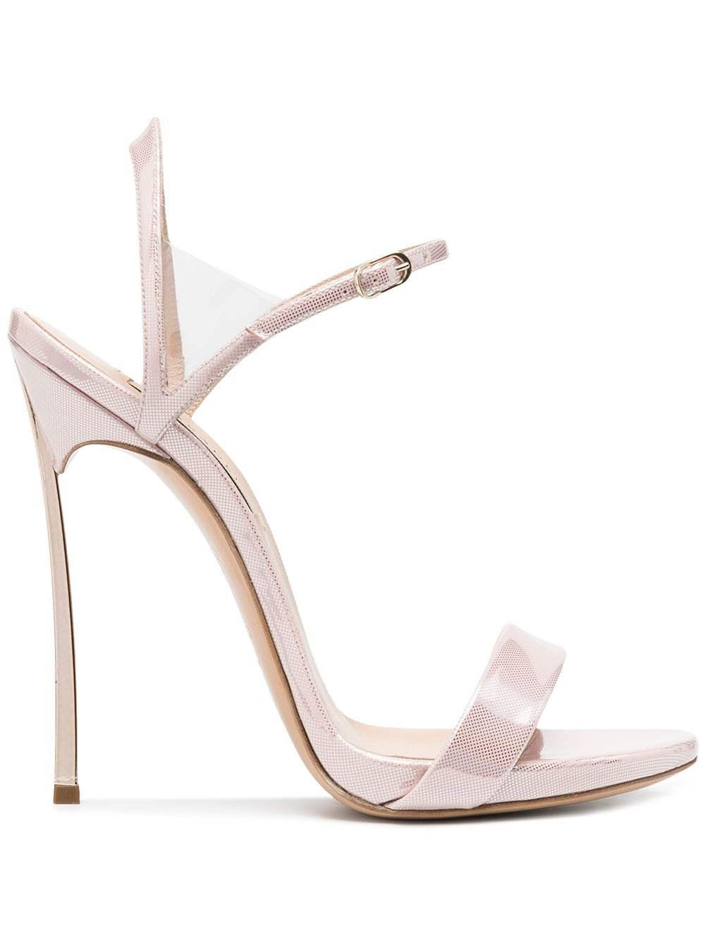 Casadei Leathers CASADEI WOMEN'S PINK LEATHER SANDALS