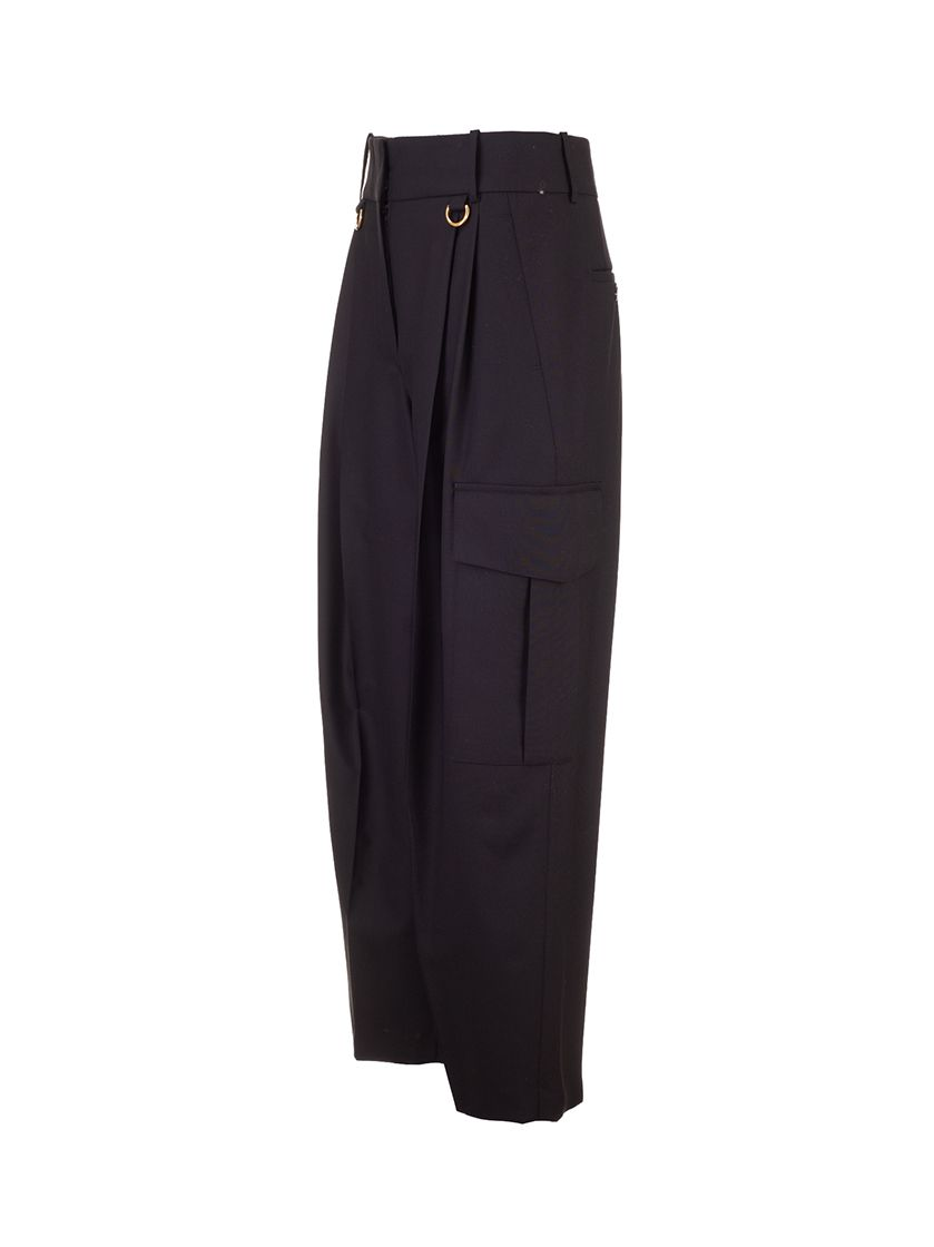 GIVENCHY Pants GIVENCHY WOMEN'S BLACK OTHER MATERIALS PANTS