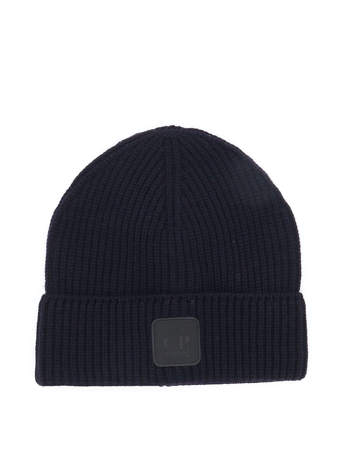 C.p. Company CP COMPANY MEN'S BLUE WOOL HAT