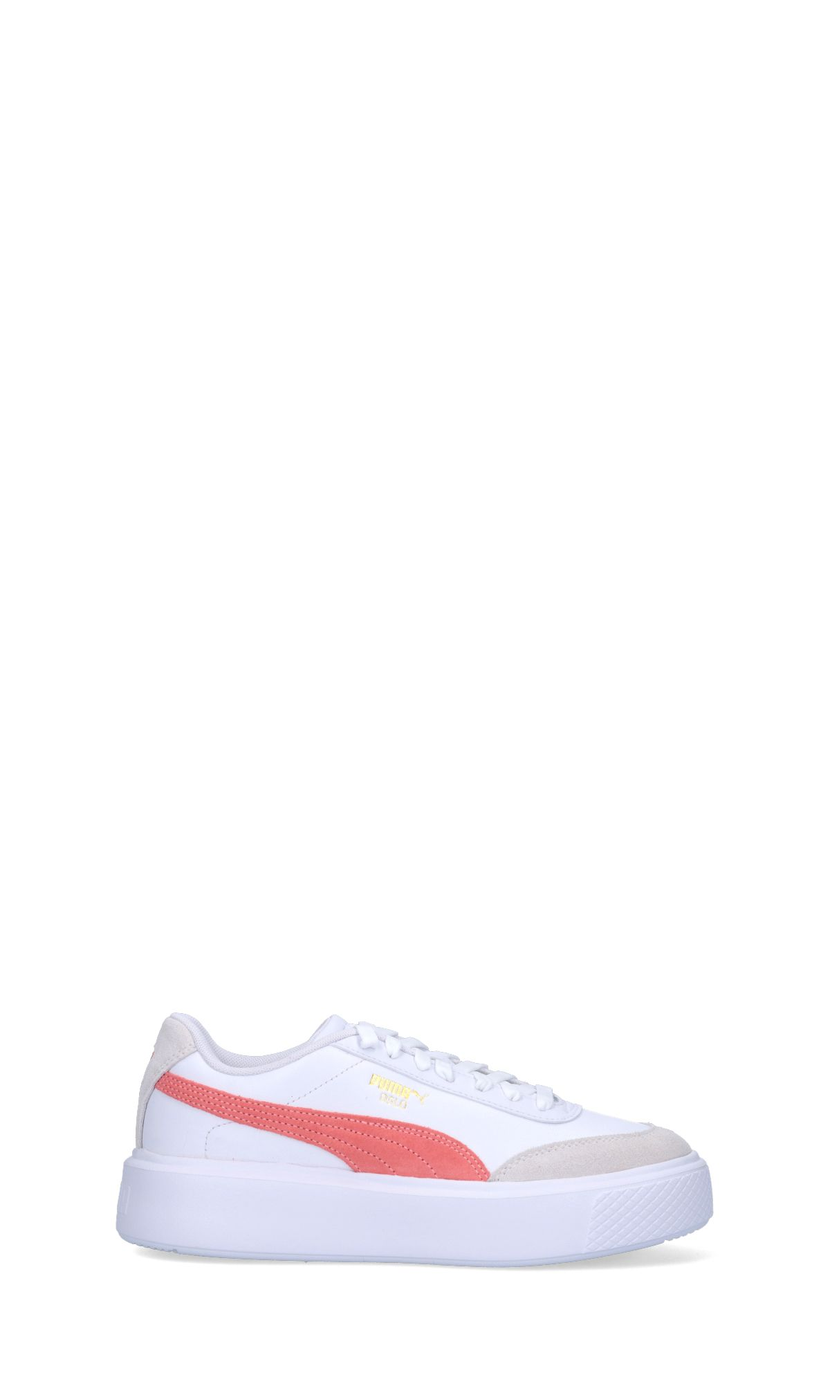 Puma PUMA WOMEN'S WHITE LEATHER SNEAKERS