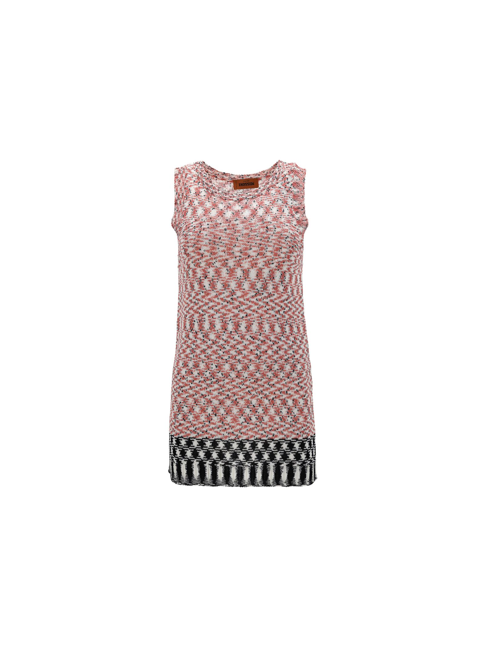 Missoni Knits MISSONI WOMEN'S PINK OTHER MATERIALS TOP