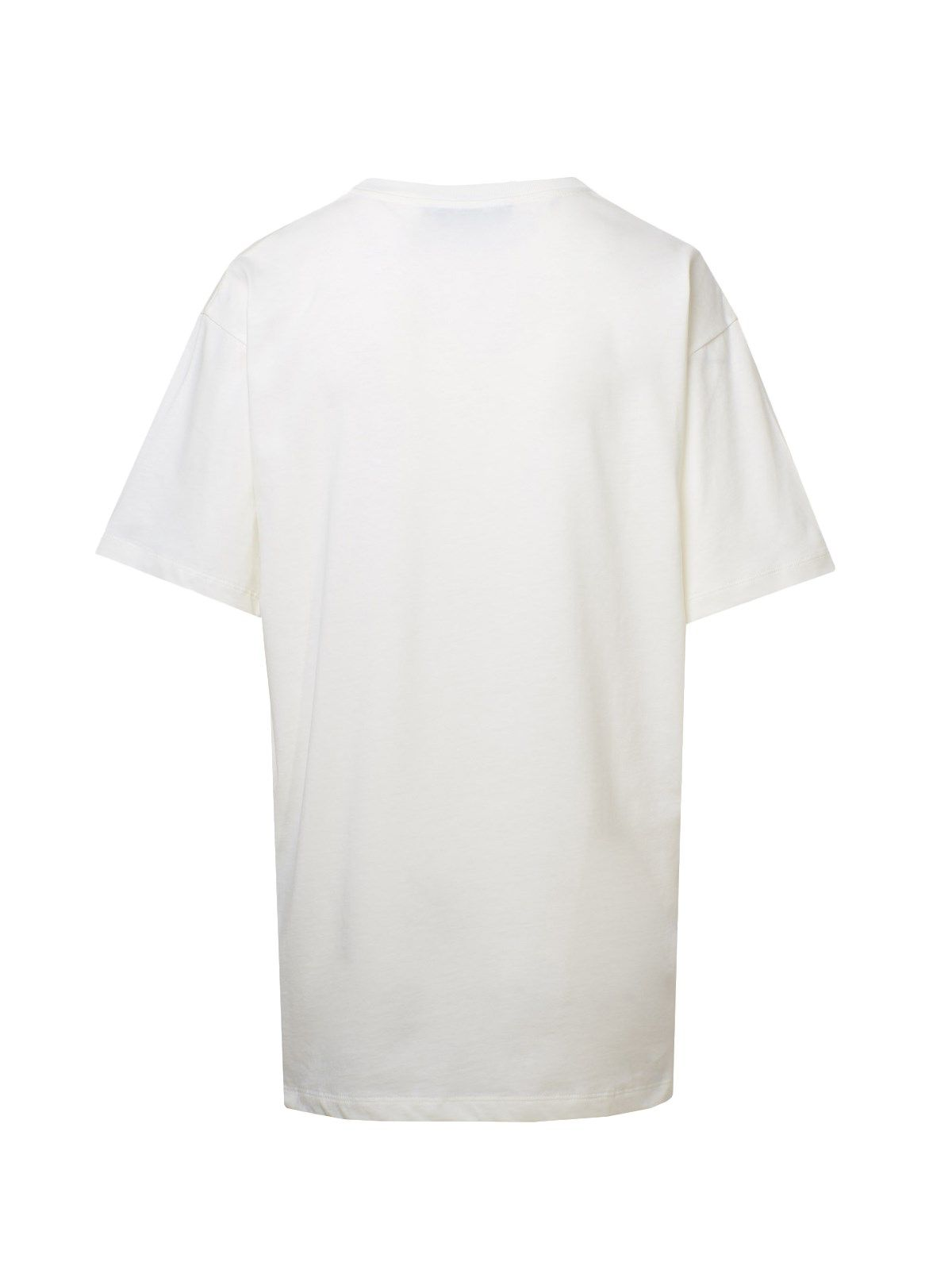 GUCCI Cottons GUCCI WOMEN'S WHITE COTTON T-SHIRT
