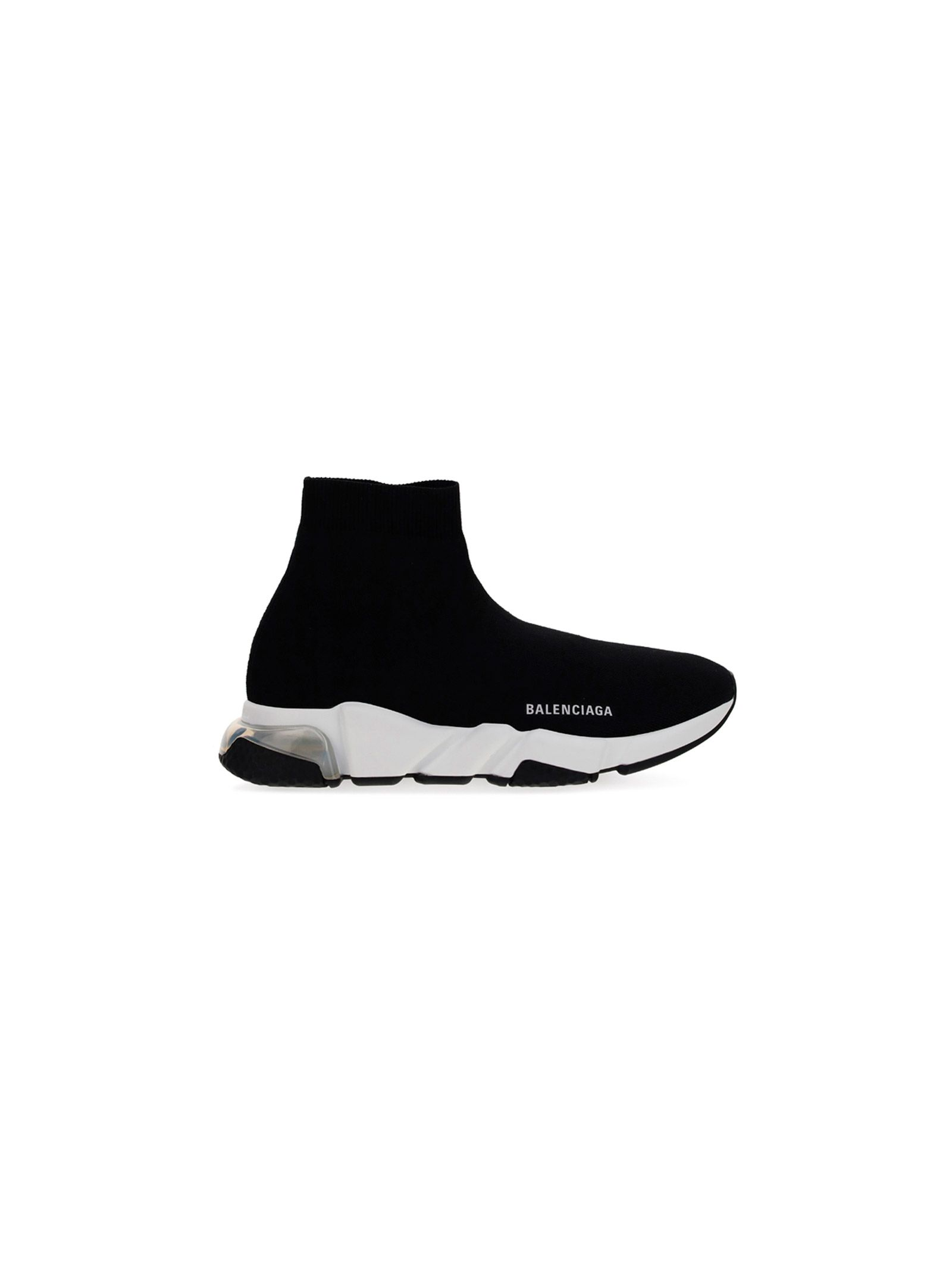 Balenciaga BALENCIAGA MEN'S BLACK SYNTHETIC FIBERS HI TOP SNEAKERS