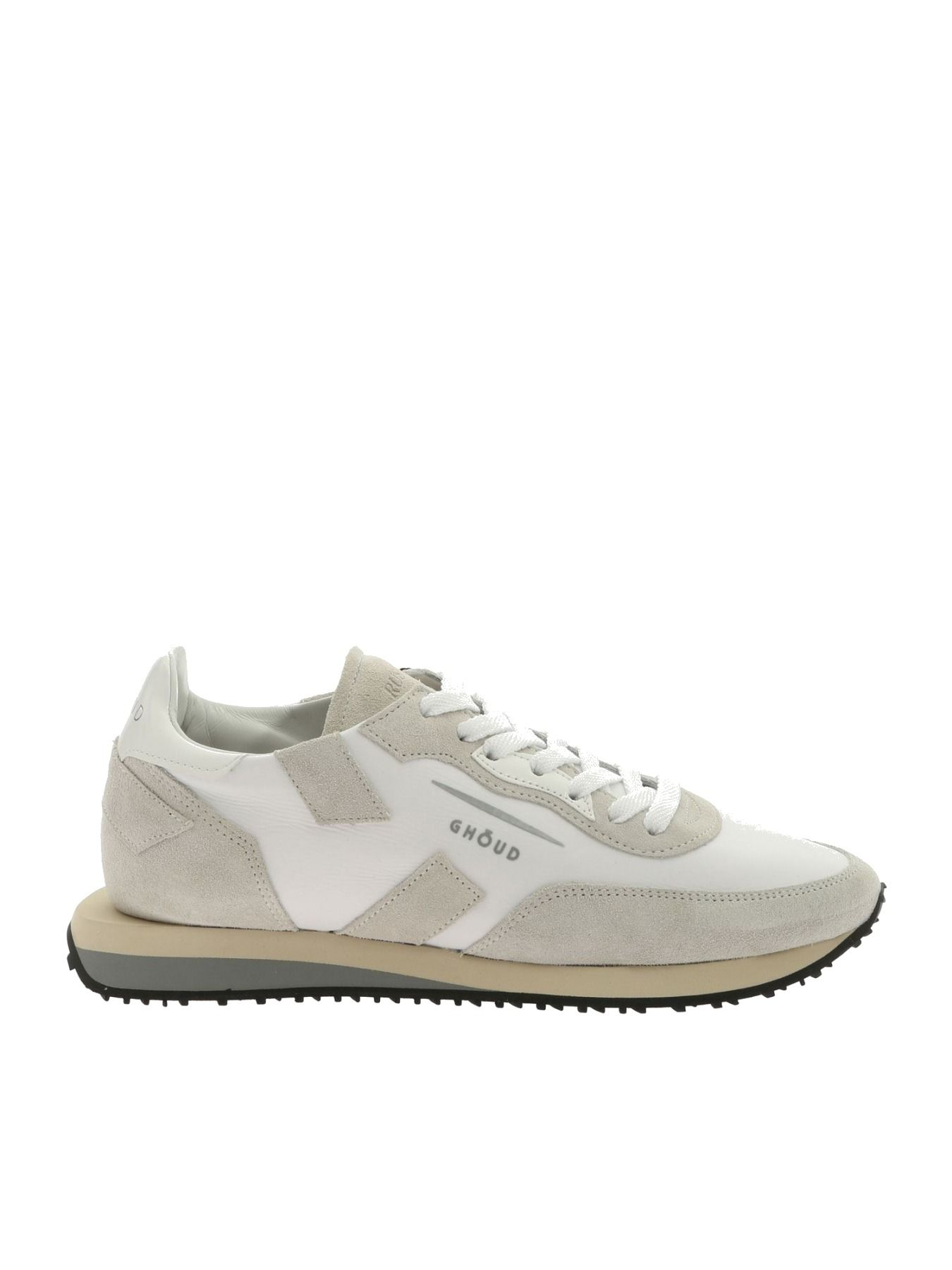 Ghoud Sneakers Leather Rush Low Rslm Nl26 In White