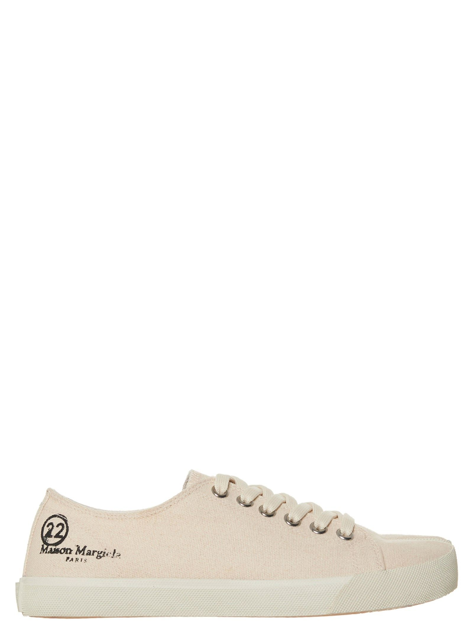 Maison Margiela Canvases MAISON MARGIELA WOMEN'S WHITE OTHER MATERIALS SNEAKERS