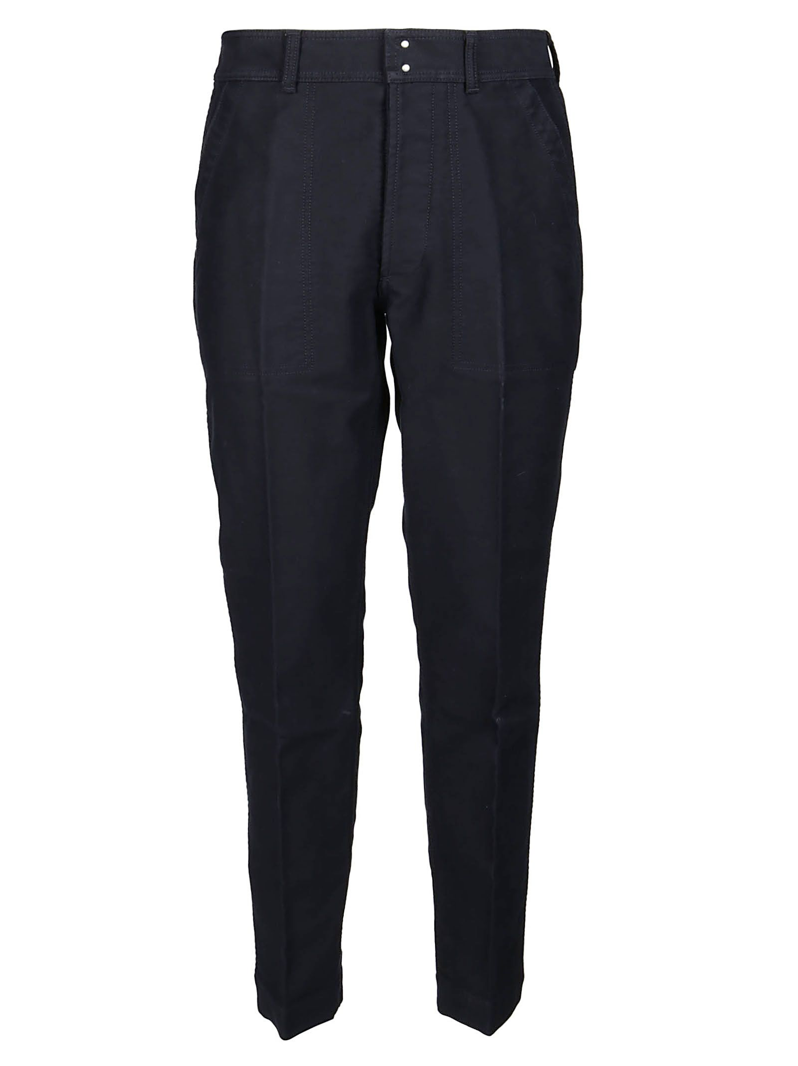 Tom Ford Cottons TOM FORD MEN'S BLUE COTTON PANTS