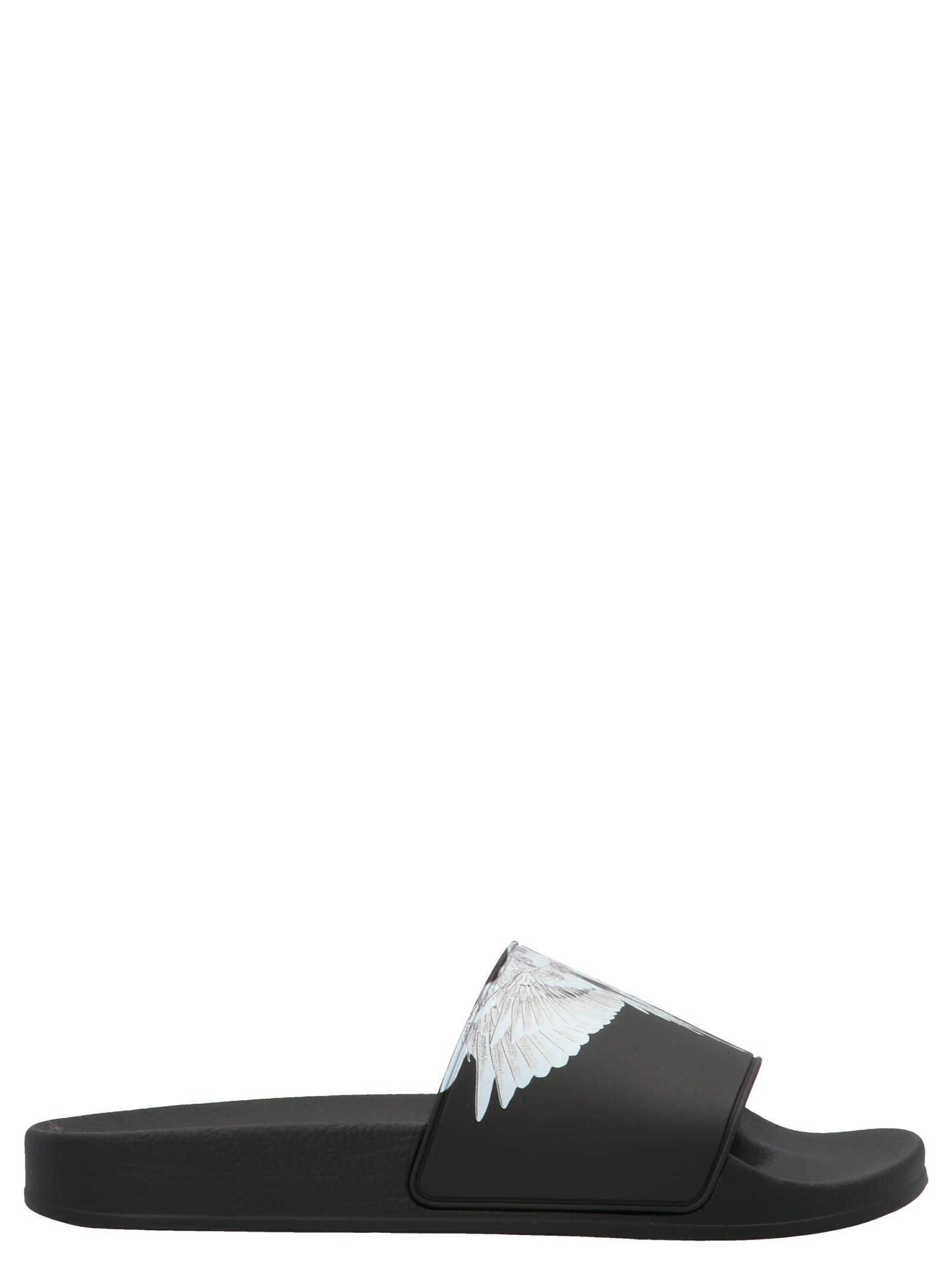 Marcelo Burlon County Of Milan MARCELO BURLON MEN'S BLACK OTHER MATERIALS SANDALS