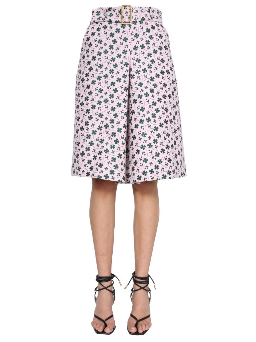 Boutique Moschino BOUTIQUE MOSCHINO WOMEN'S PINK OTHER MATERIALS SKIRT