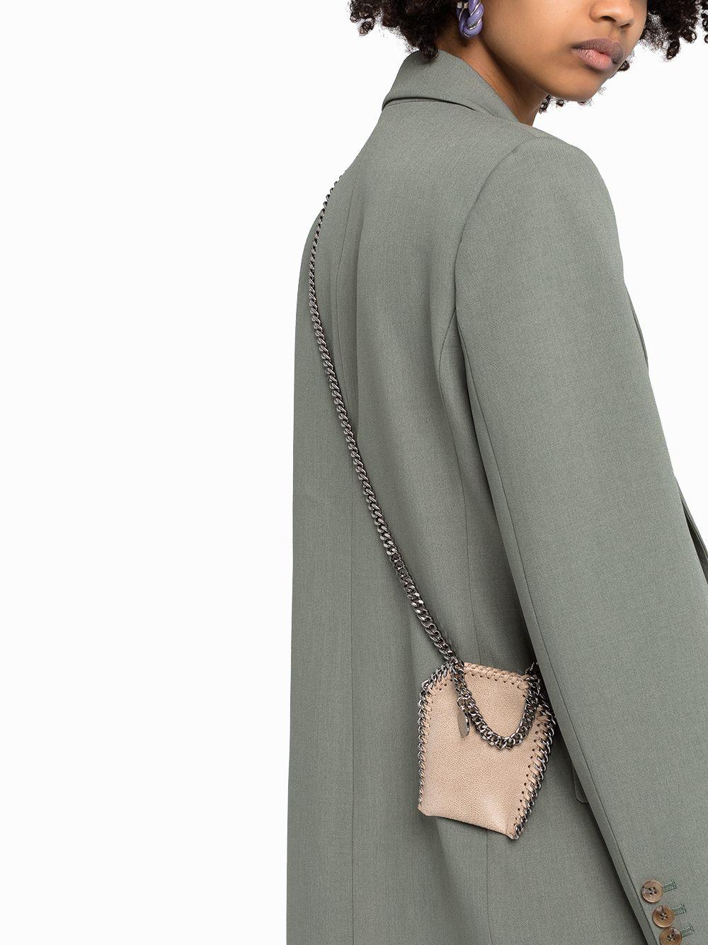STELLA MCCARTNEY Shoulder bags STELLA MCCARTNEY WOMEN'S BEIGE POLYESTER SHOULDER BAG
