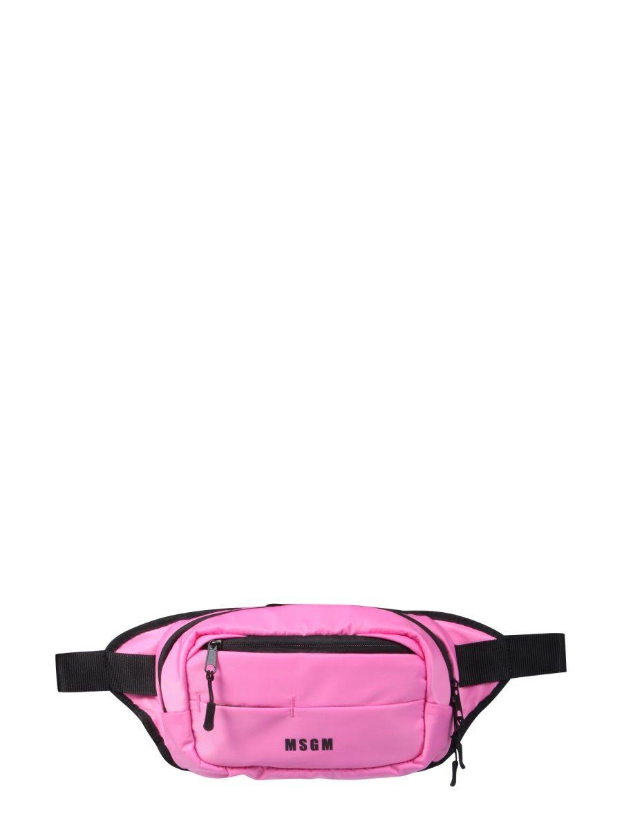 Msgm Belt bags MSGM WOMEN'S PINK OTHER MATERIALS BELT BAG