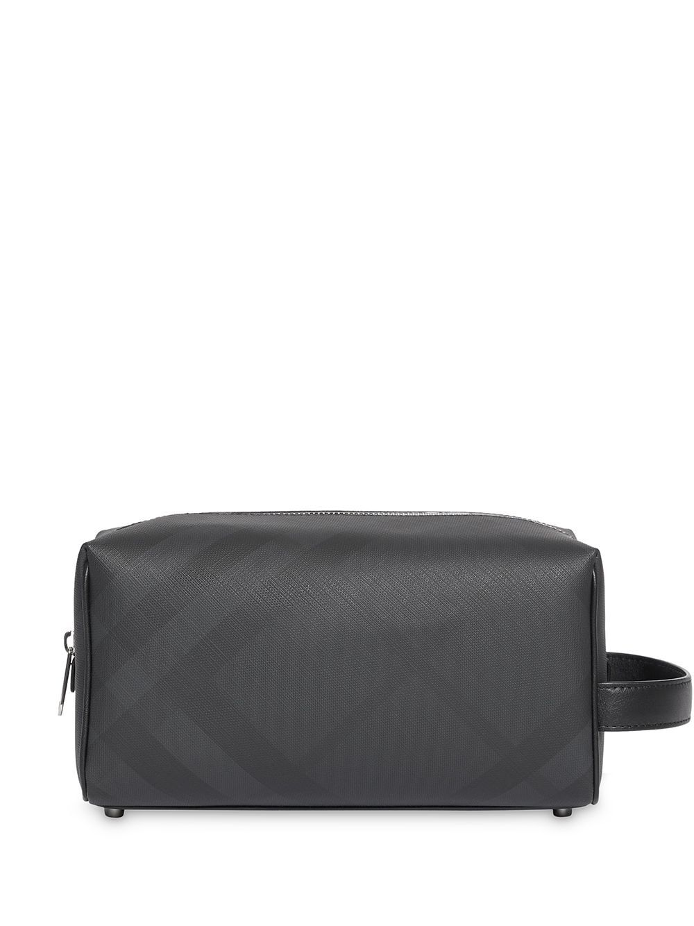 Burberry BURBERRY MEN'S BLACK POLYURETHANE BEAUTY CASE