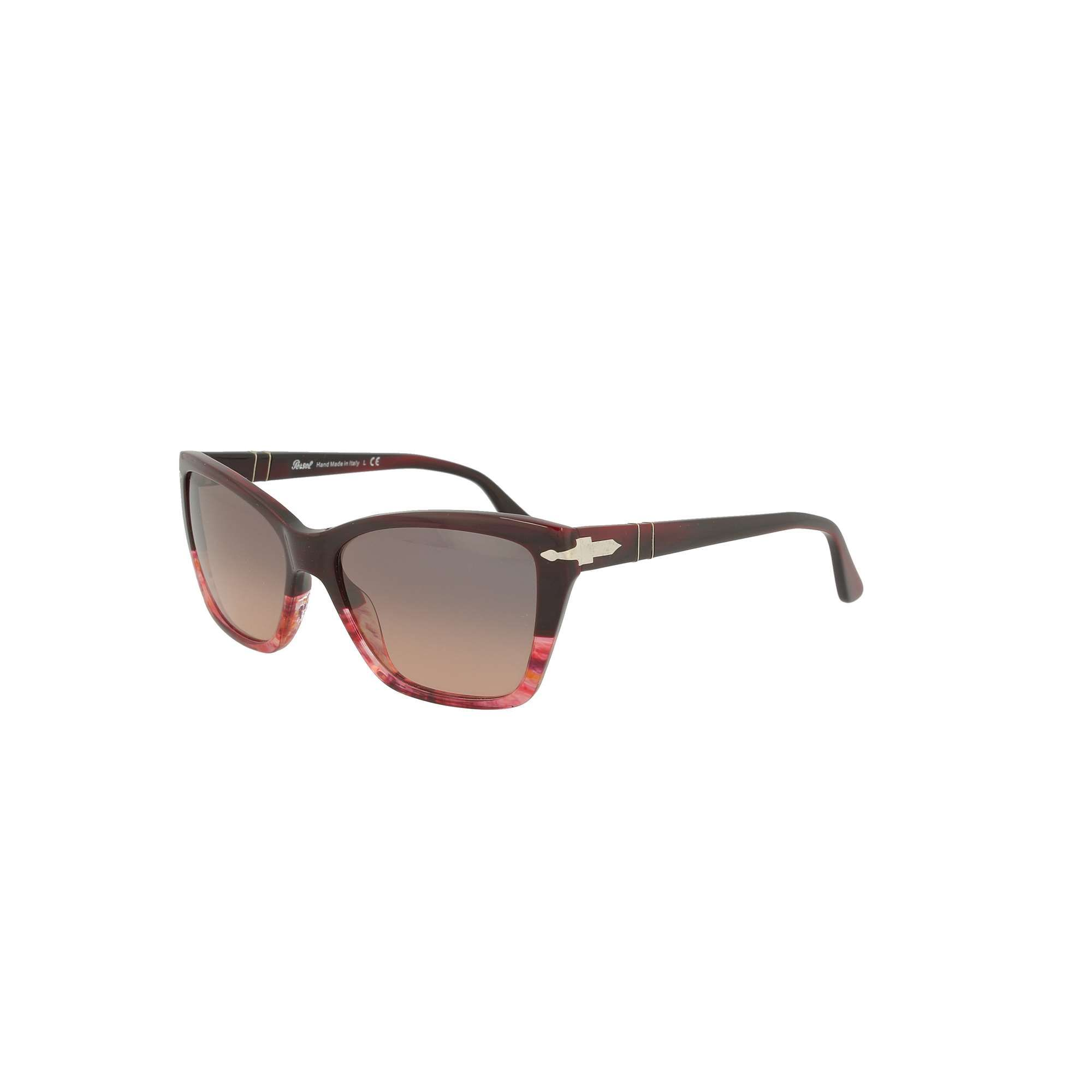 PERSOL Sunglasses PERSOL WOMEN'S PINK METAL SUNGLASSES