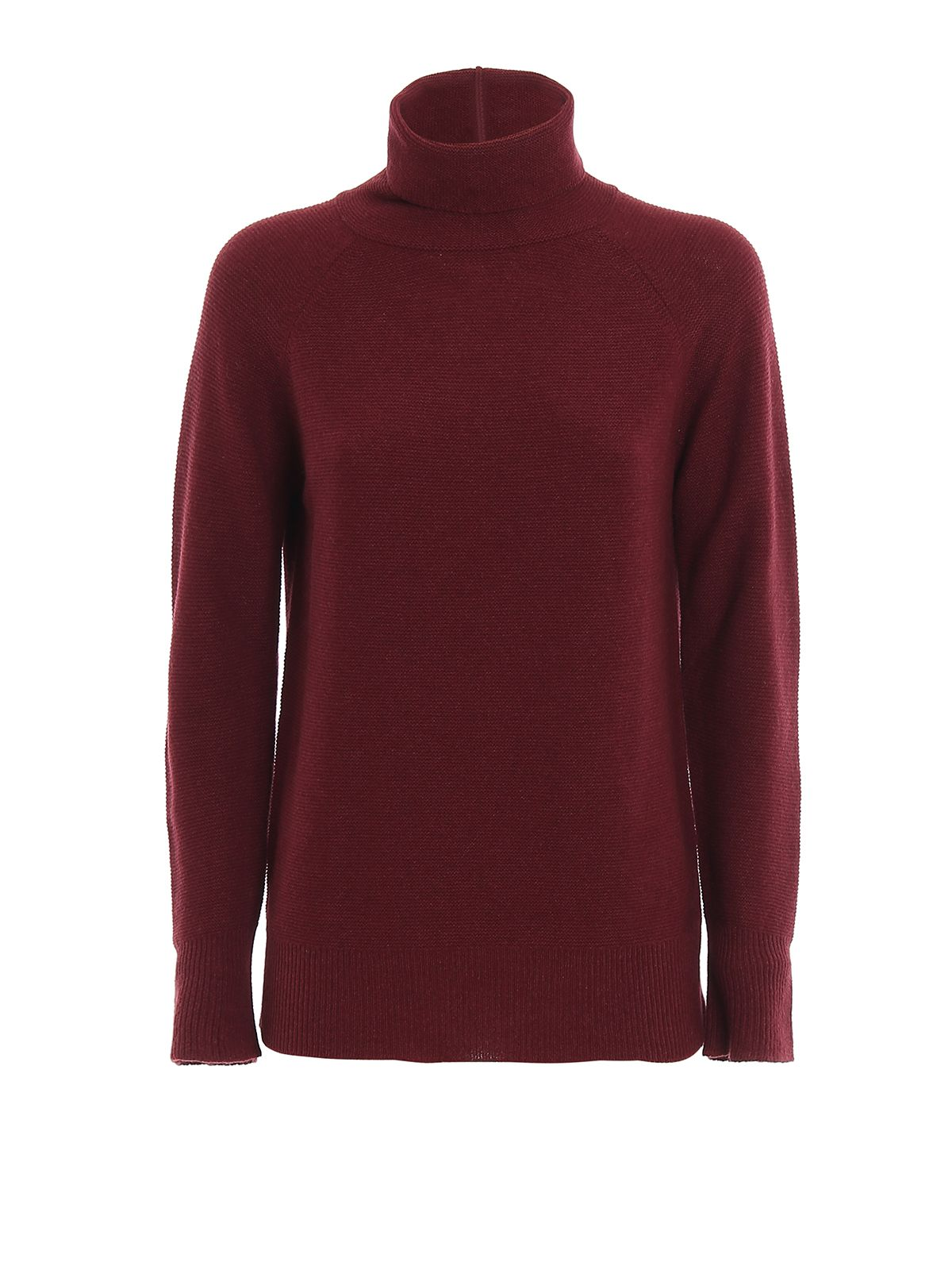 Fabiana Filippi FABIANA FILIPPI WOMEN'S BURGUNDY WOOL SWEATER
