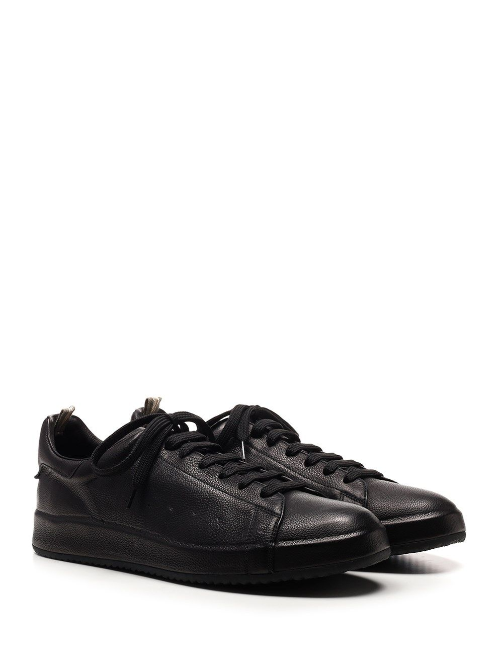 OFFICINE CREATIVE Leathers OFFICINE CREATIVE MEN'S BLACK OTHER MATERIALS SNEAKERS