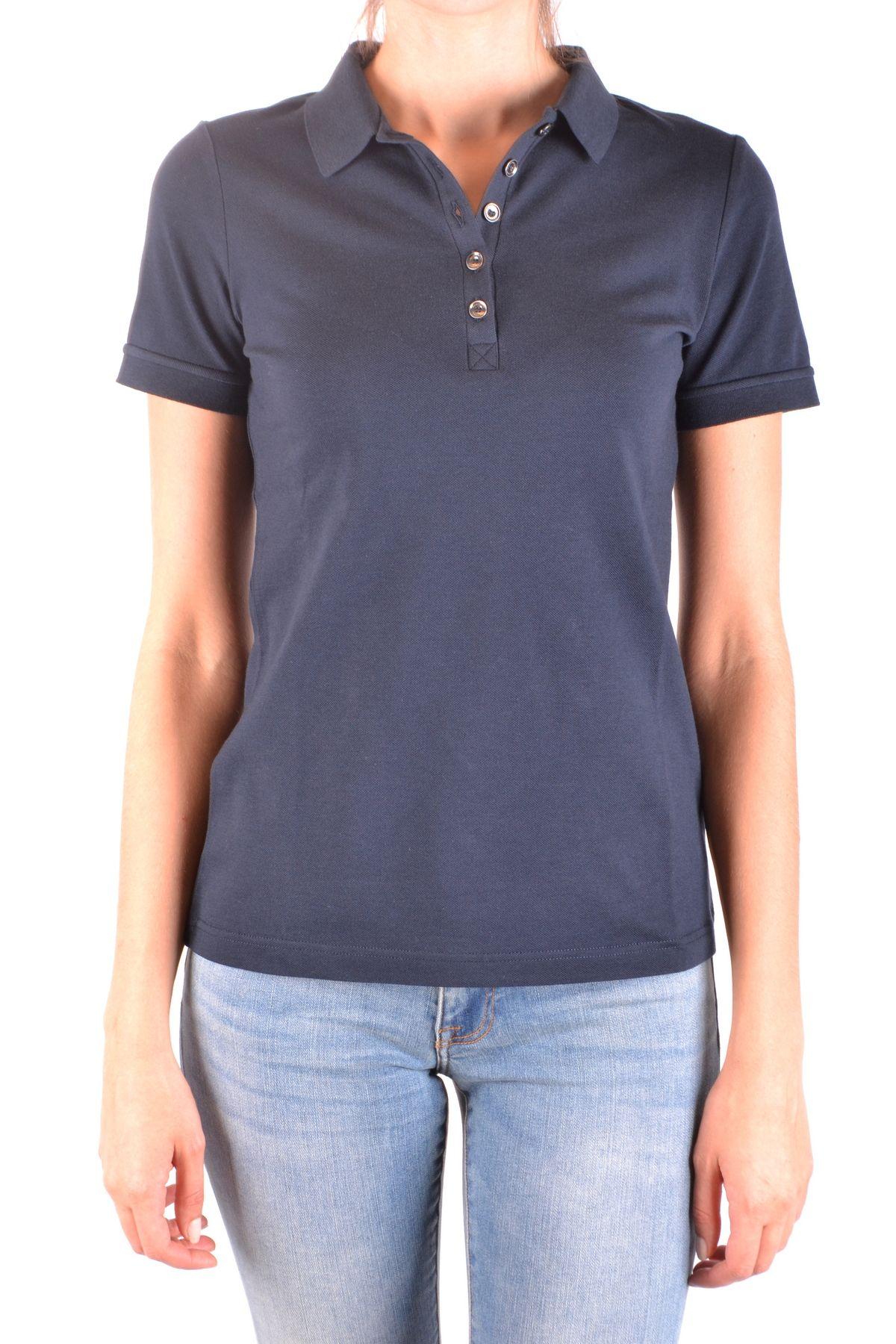 19cc45be4e41 Burberry Men's Mcbi35834 Blue Cotton Polo Shirt | ModeSens