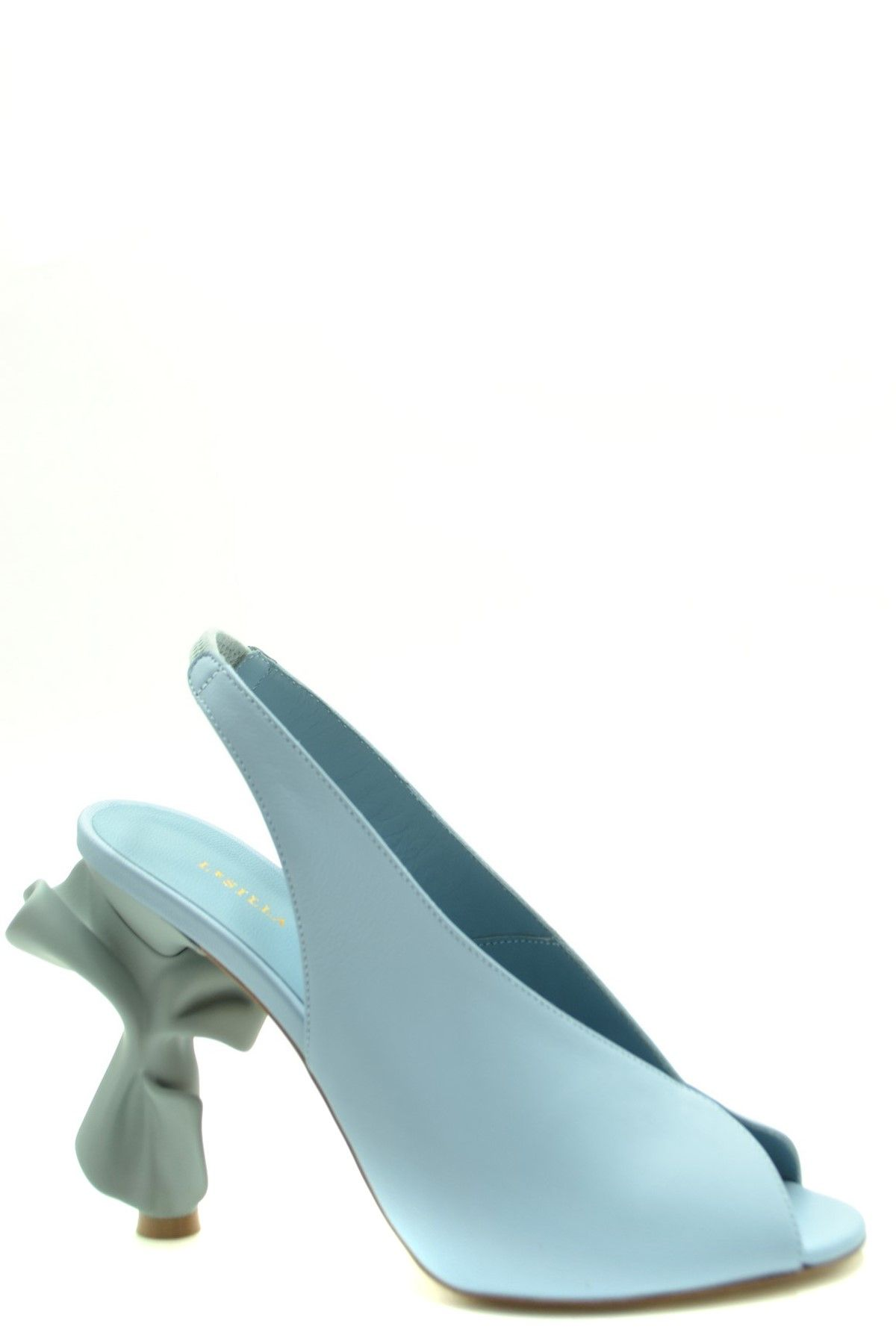 Le Silla LE SILLA WOMEN'S LIGHT BLUE LEATHER SANDALS