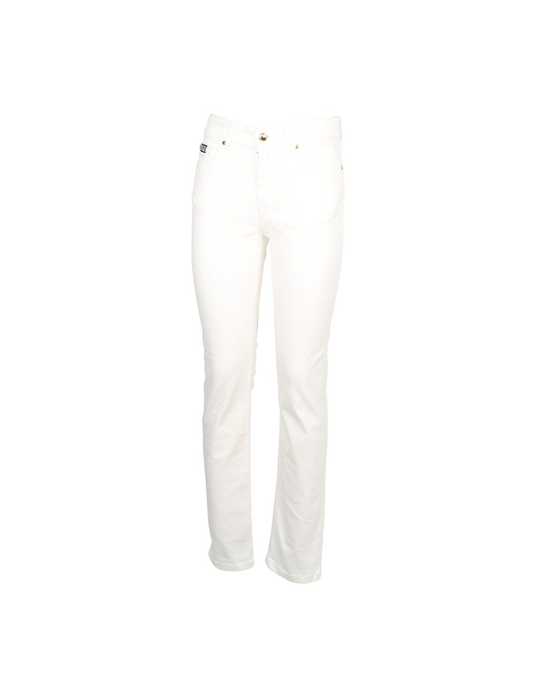 Versace Jeans VERSACE JEANS MEN'S WHITE COTTON JEANS