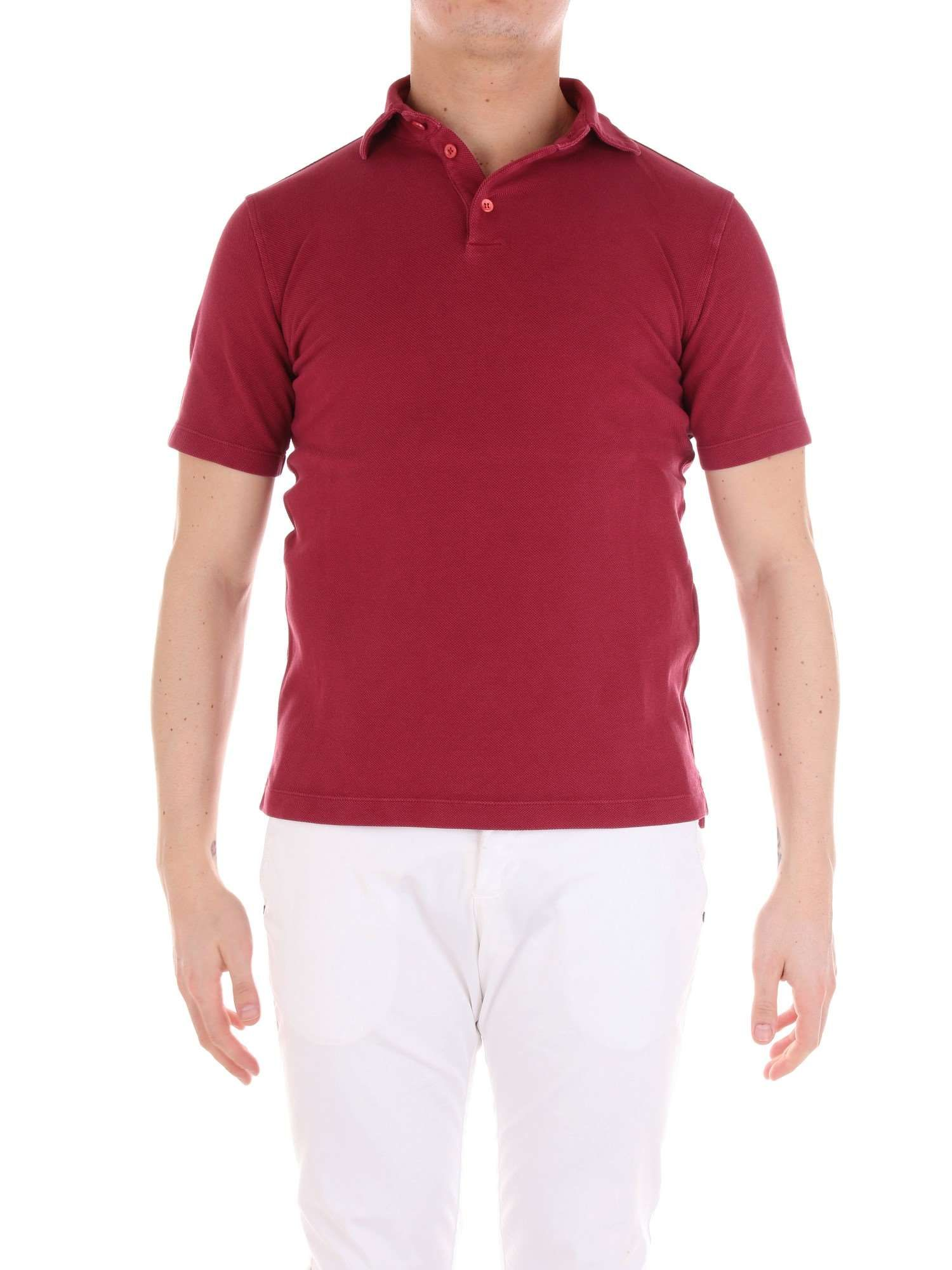 sale retailer ff9a2 d3b81 Red Cotton Polo Shirt