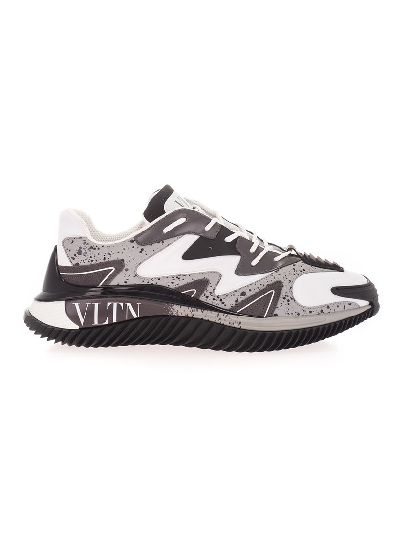 Valentino VALENTINO GARAVANI MEN'S GREY OTHER MATERIALS SNEAKERS