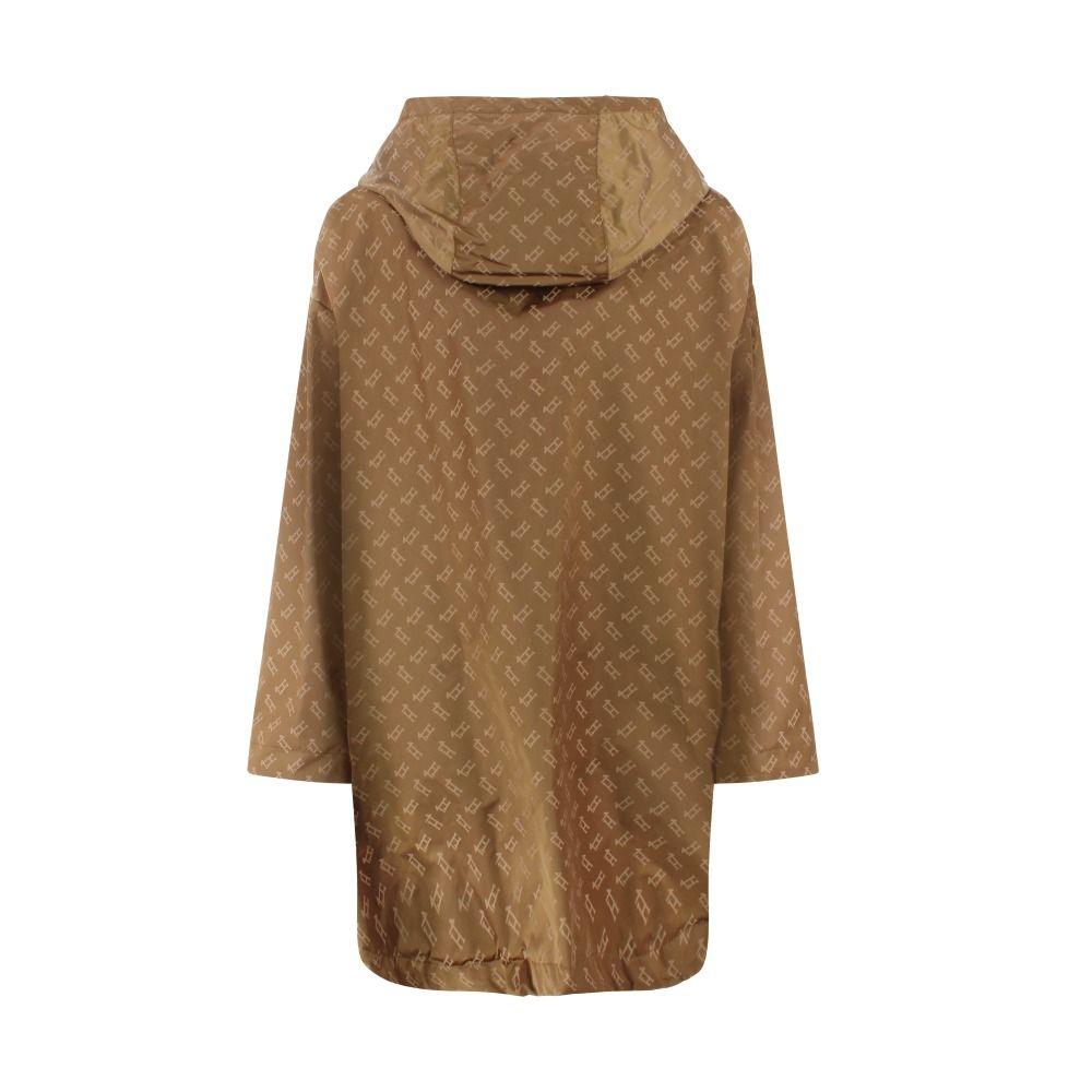 HERNO Coats HERNO WOMEN'S BROWN POLYAMIDE COAT