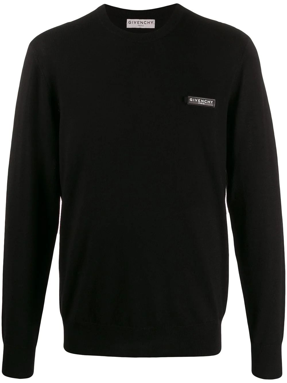 Givenchy  BLACK WOOL SWEATER