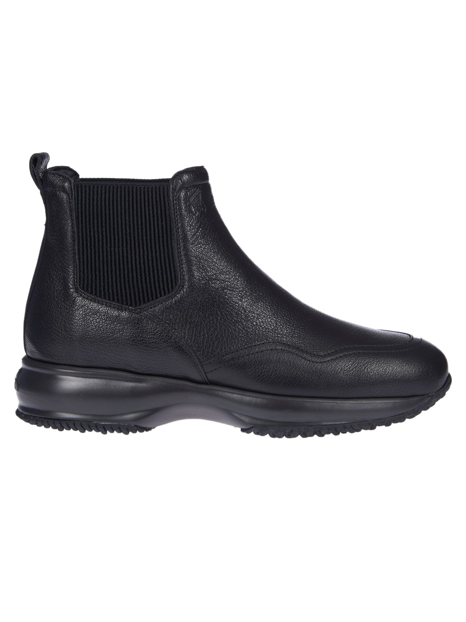 Hogan Black Interactive Chelsea Ankle Boots