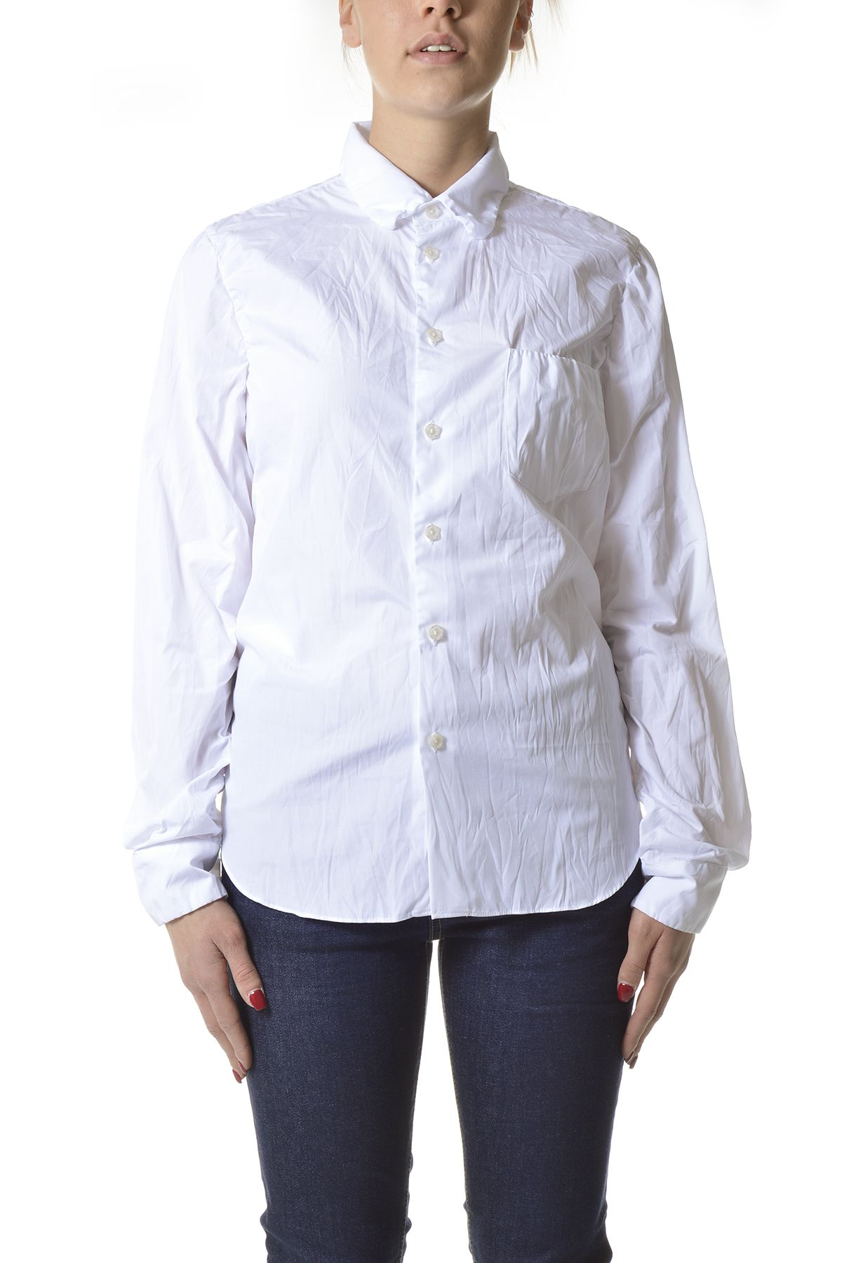 Marni Cottons MARNI WOMEN'S WHITE COTTON SHIRT