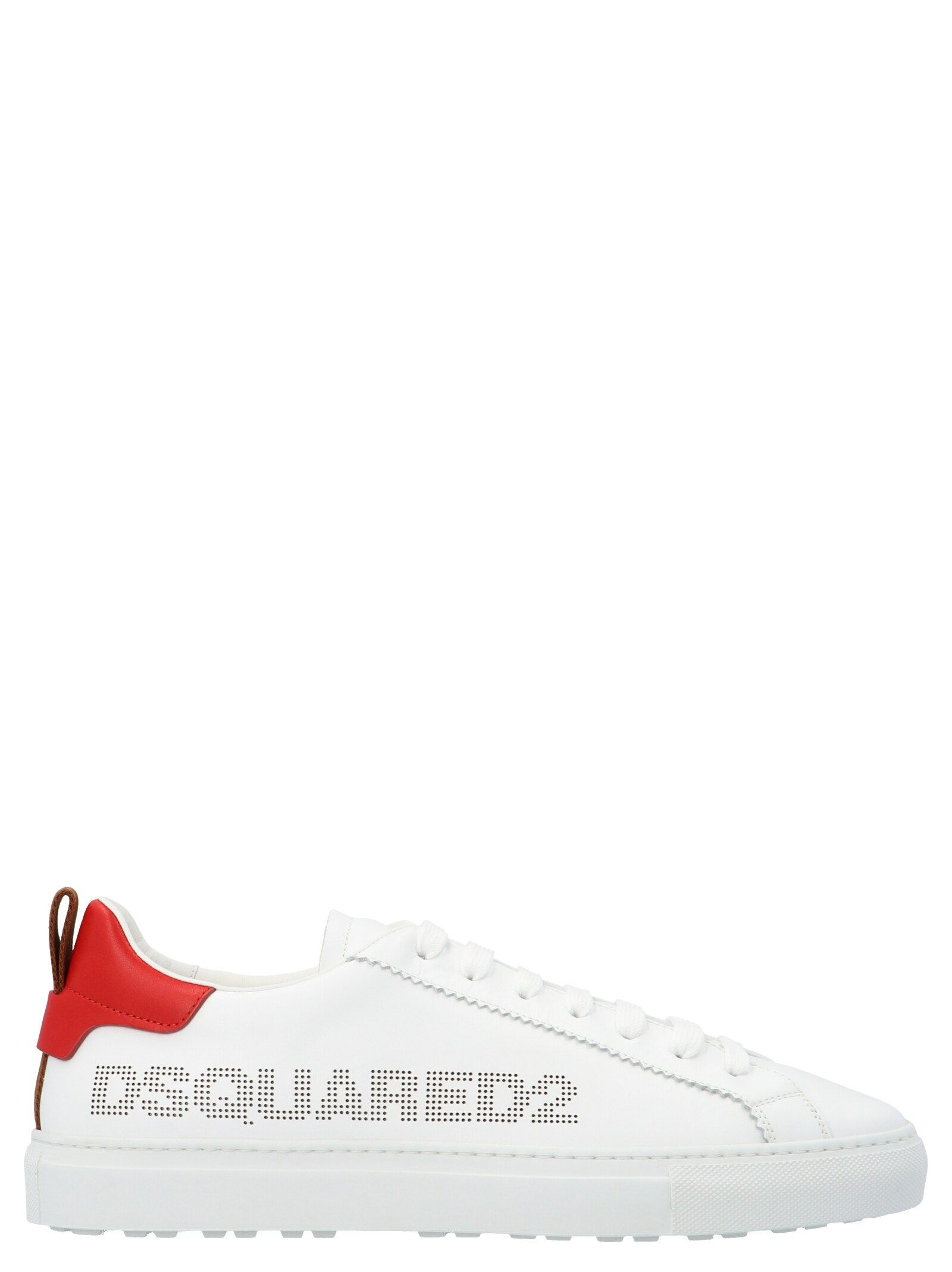 Dsquared2 DSQUARED2 MEN'S WHITE OTHER MATERIALS SNEAKERS