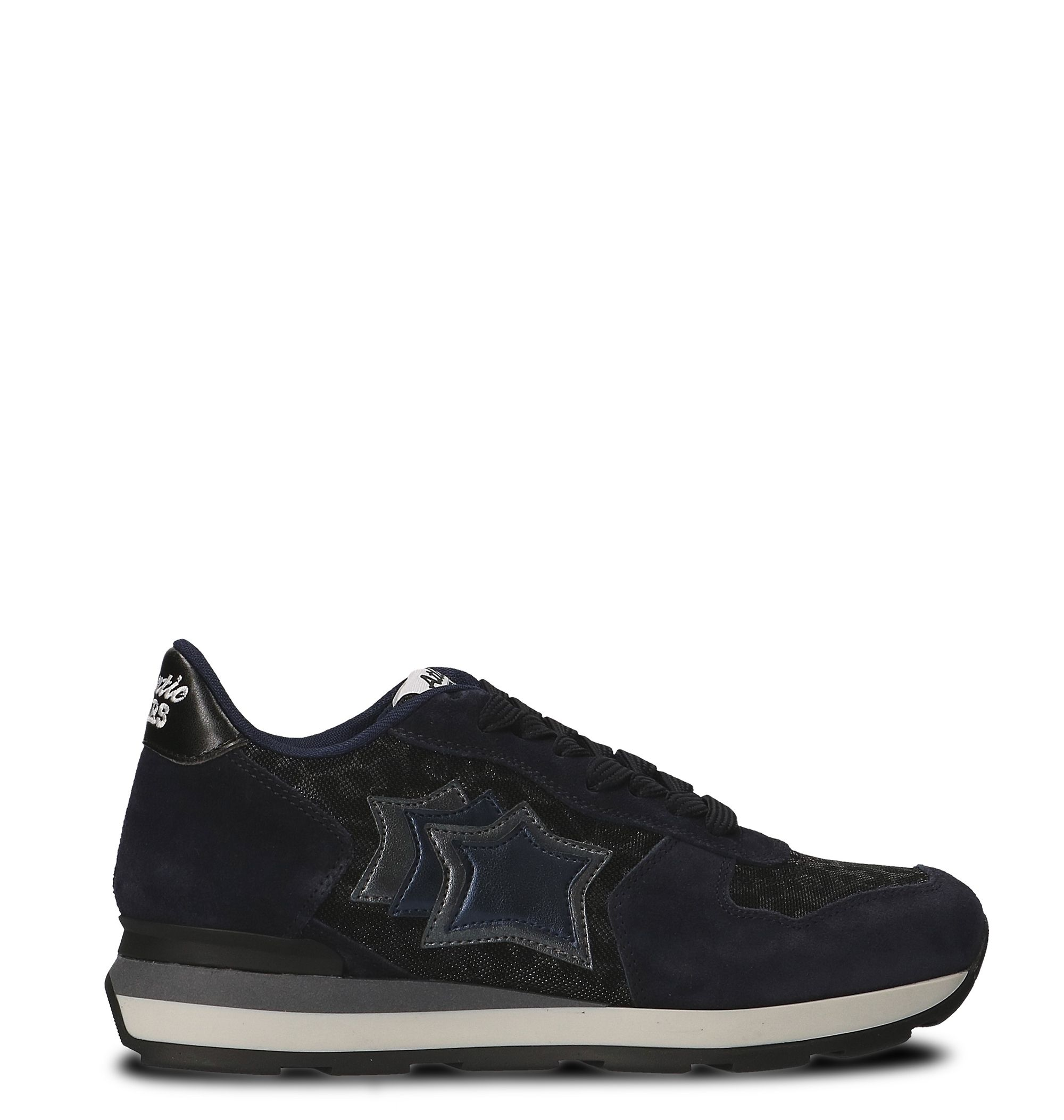 Atlantic Stars Blue Fabric Sneakers
