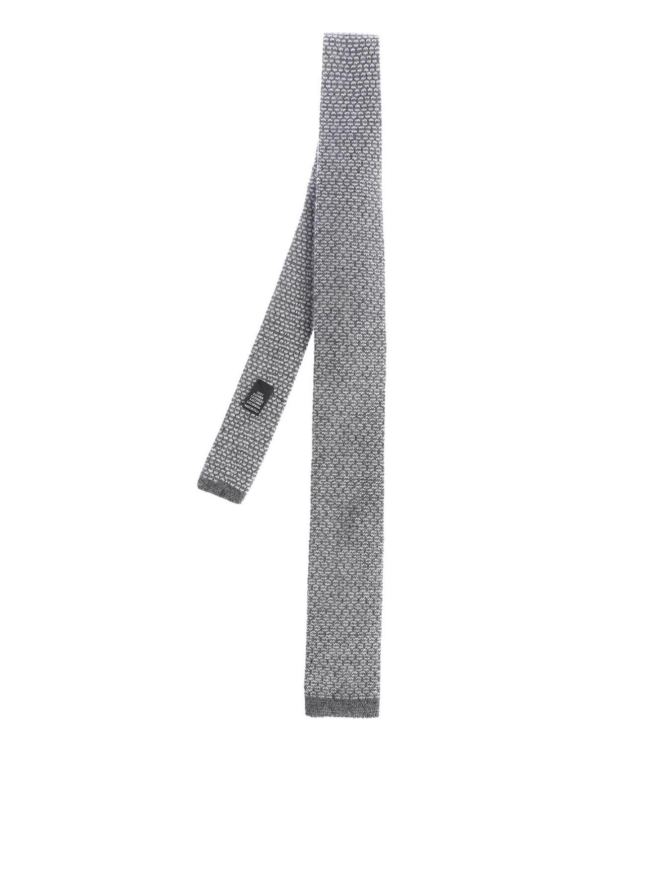 Roda Grey Cashmere Tie